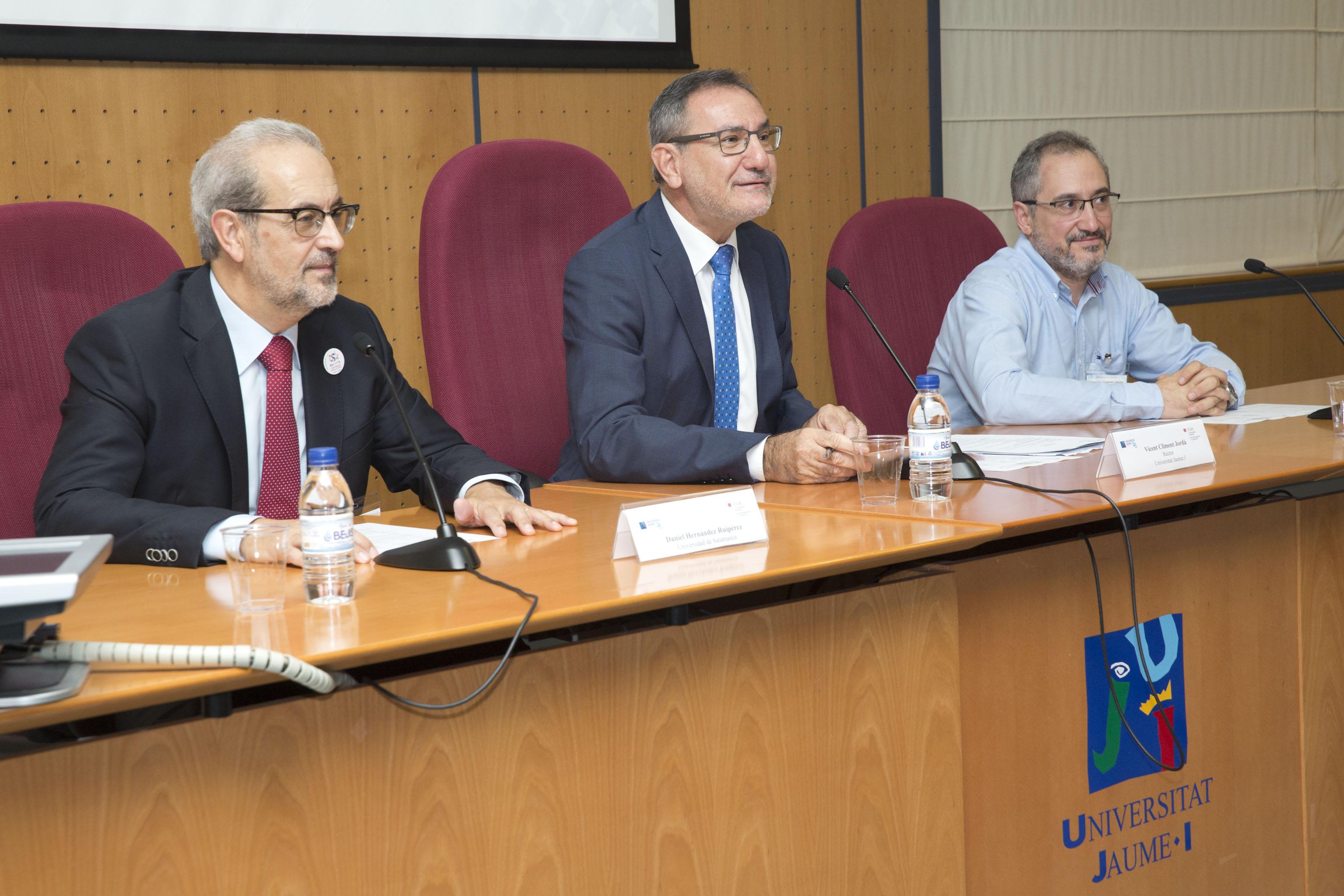 La Universidad de Salamanca participa en la reunión sectorial de Internacionalización y Cooperación de la Conferencia de Rectores de las Universidades Españolas