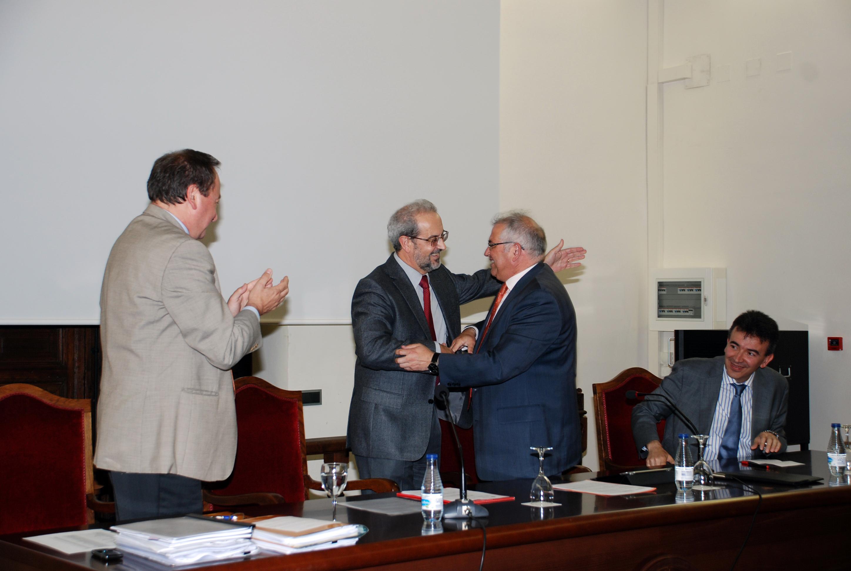 El rector, Daniel Hernández Ruipérez, inaugura las Jornadas de Gerencias Universitarias de las Universidades Españolas