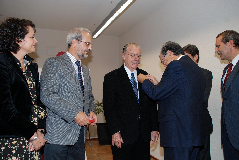 El expresidente de Brasil José Sarney, nombrado consejero del Centro de Estudios Brasileños de la Universidad de Salamanca