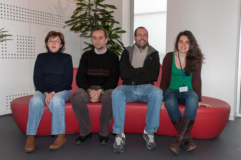 Juan Carlos Ribas y su equipo de investigación