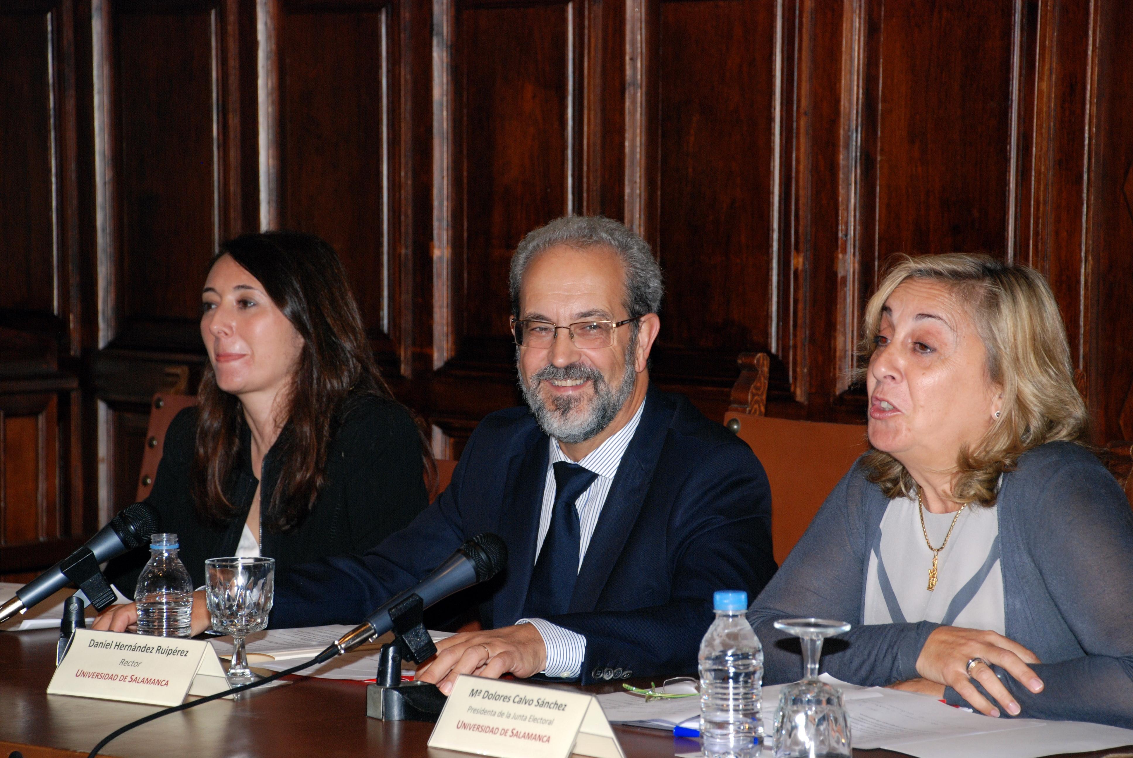 La Universidad de Salamanca organiza un seminario sobre su reglamento electoral