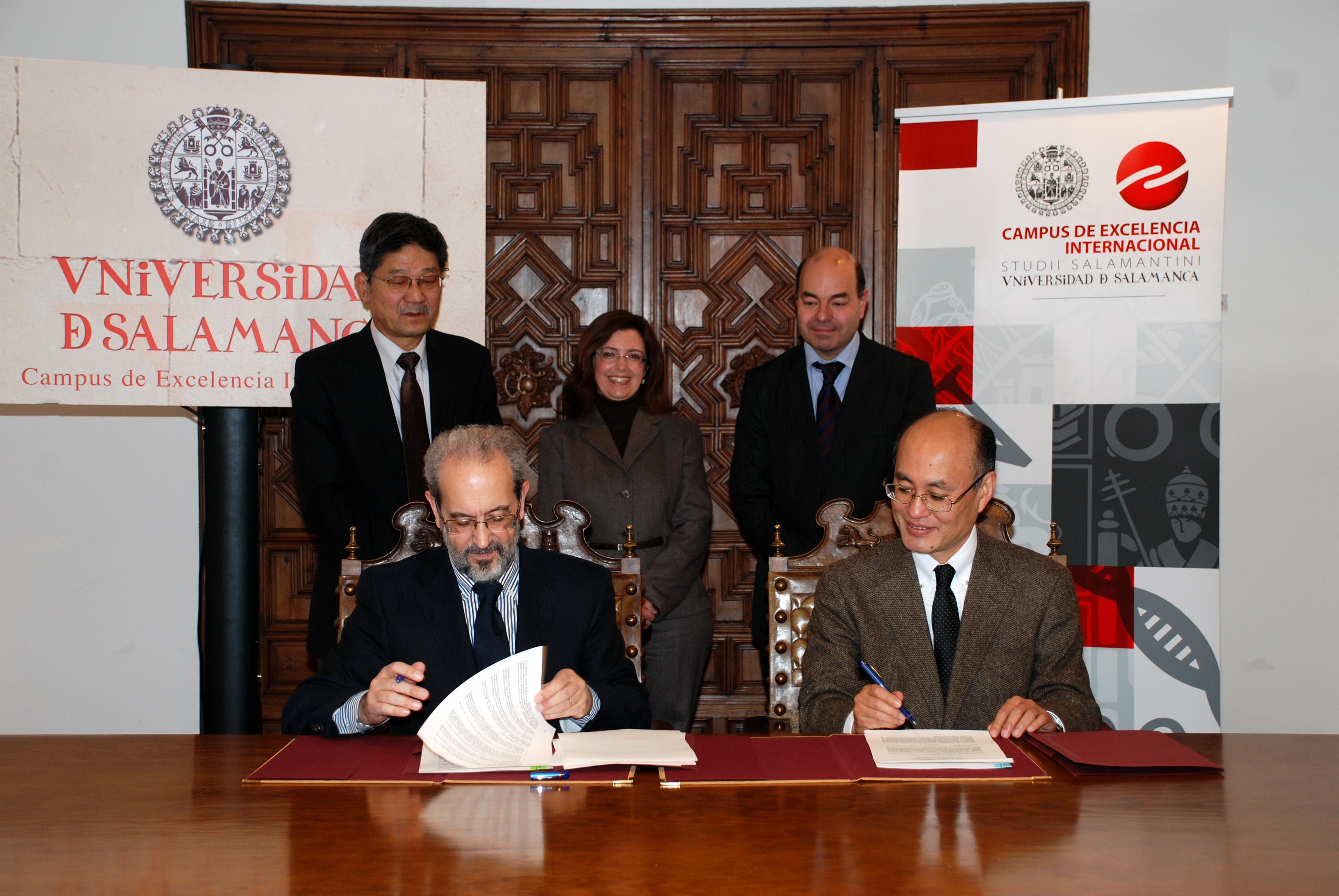 Las universidades de Salamanca y Kanazawa fijan las bases para la colaboración en movilidad de estudiantes y docentes