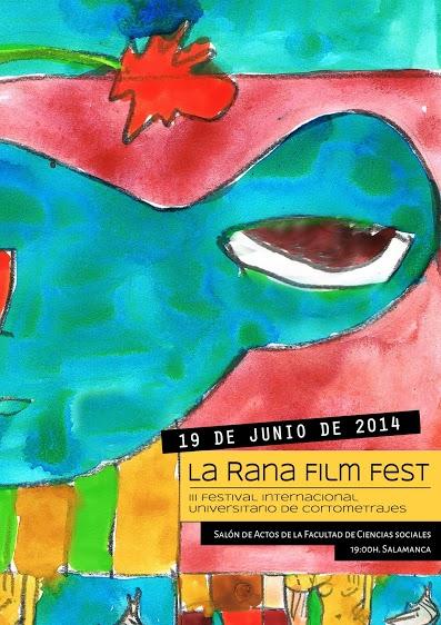 La artista barcelonesa Natalia Quintana Fernández, ganadora del Concurso de Carteles del Festival de Cortometrajes La Rana Film Fest