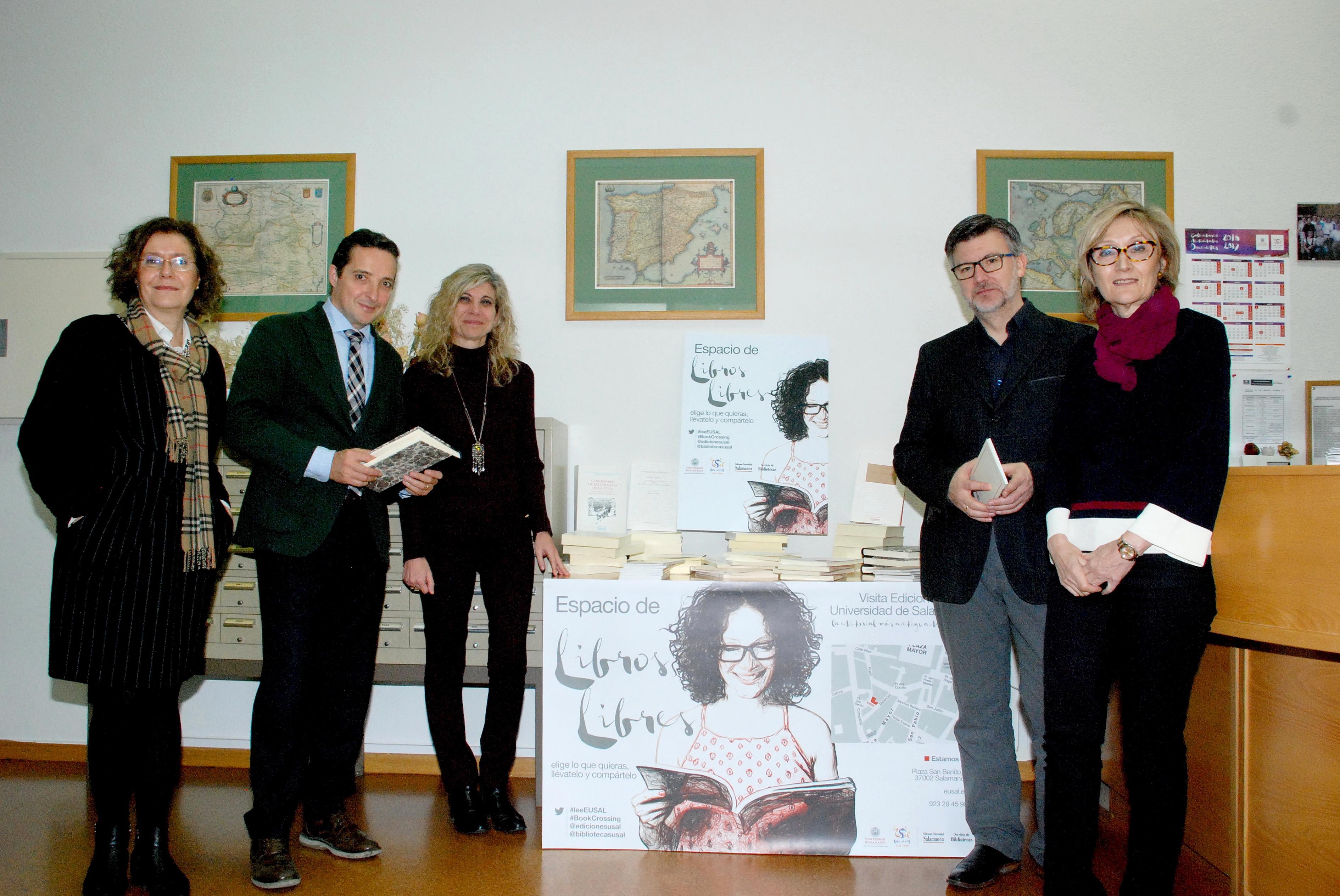 La campaña 'Libros Libres' continúa su actividad de promoción de la lectura y la investigación con la incorporación cuatro bibliotecas al proyecto