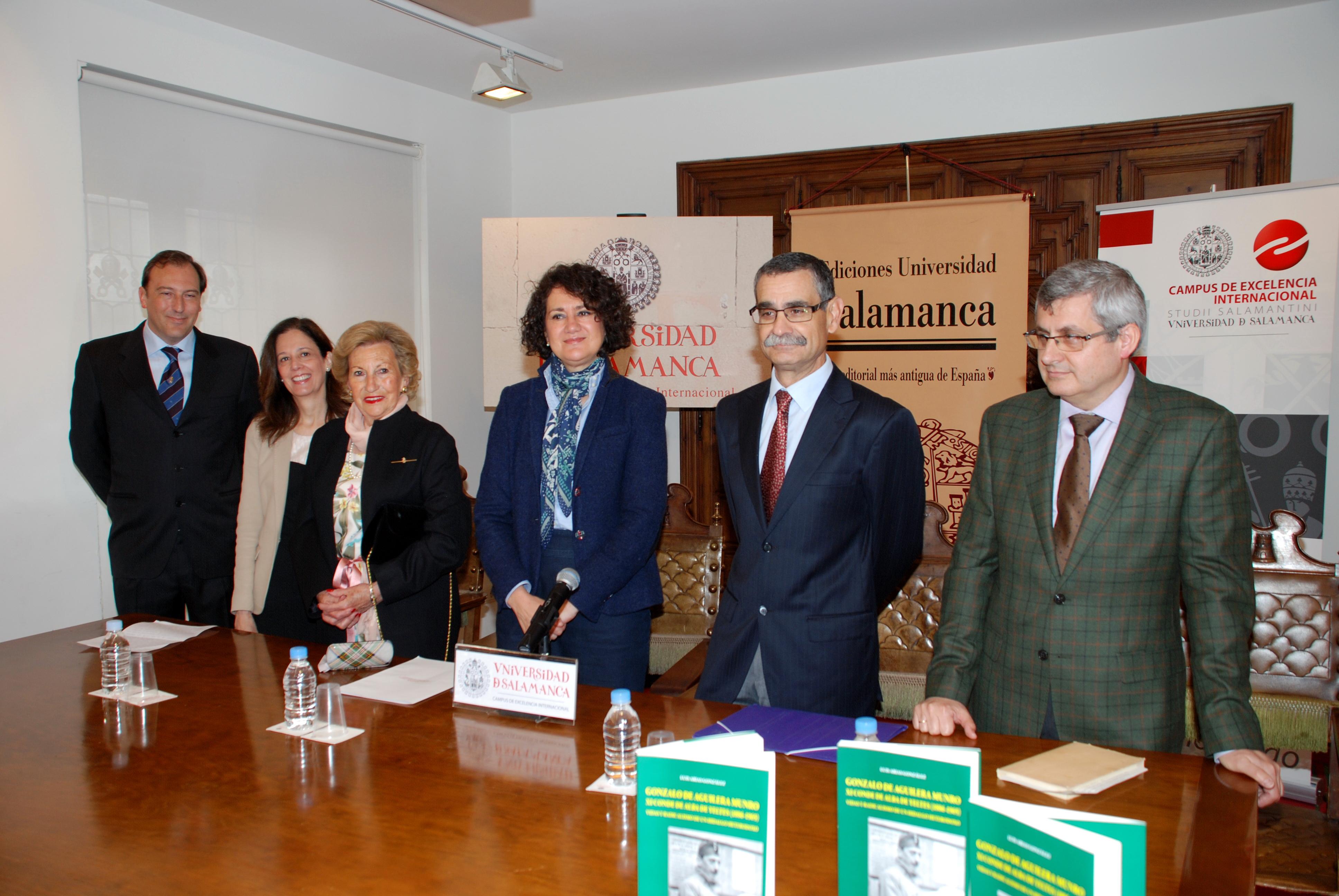 Ediciones Universidad de Salamanca presenta la biografía de Gonzalo de Aguilera Munro, XI conde de Alba de Yeltes
