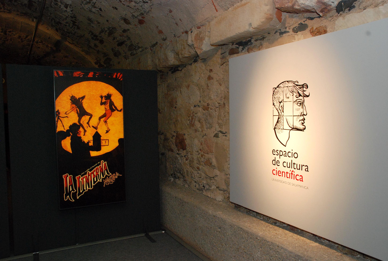 El Espacio de Cultura Científica de la Universidad arroja luz sobre la trascendencia histórico-cultural de la linterna mágica con una exposición