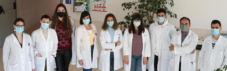 Manuel Fuentes, investigador del grupo inmunología y cáncer del Centro de Investigación del Cáncer y su equipo