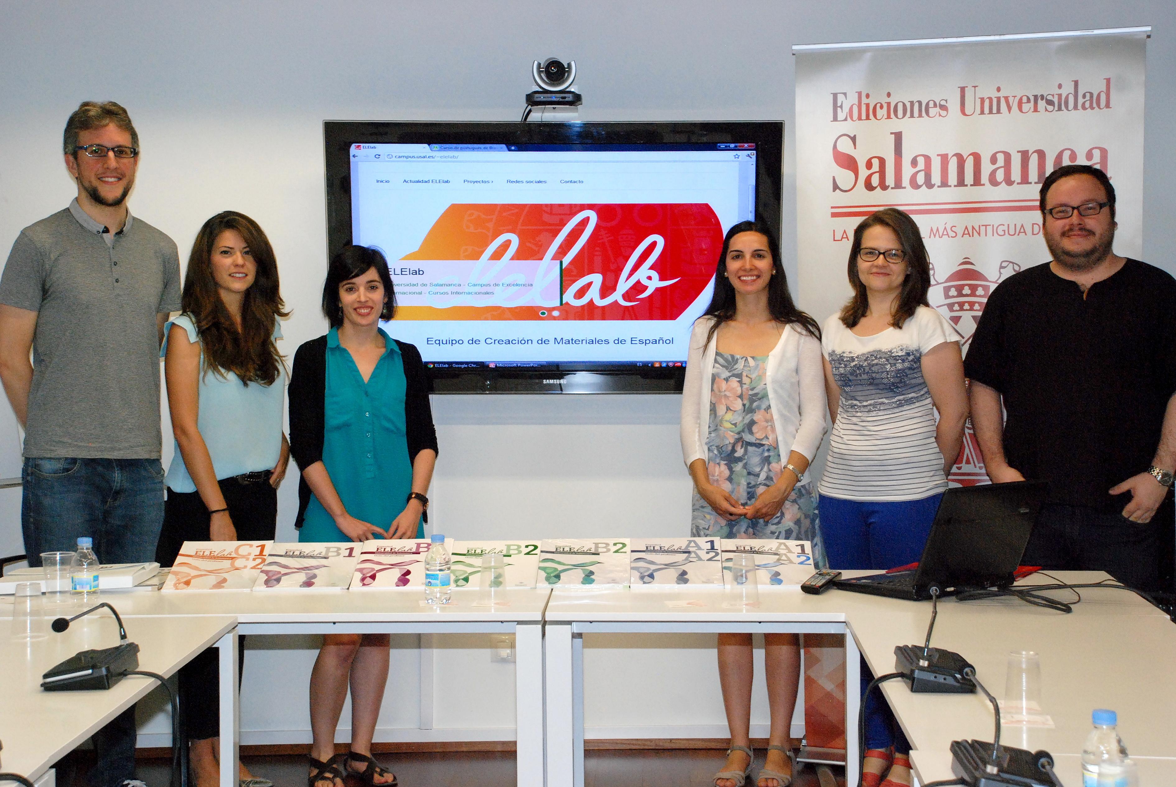 La Universidad de Salamanca presenta sus manuales para la enseñanza del español a profesores norteamericanos