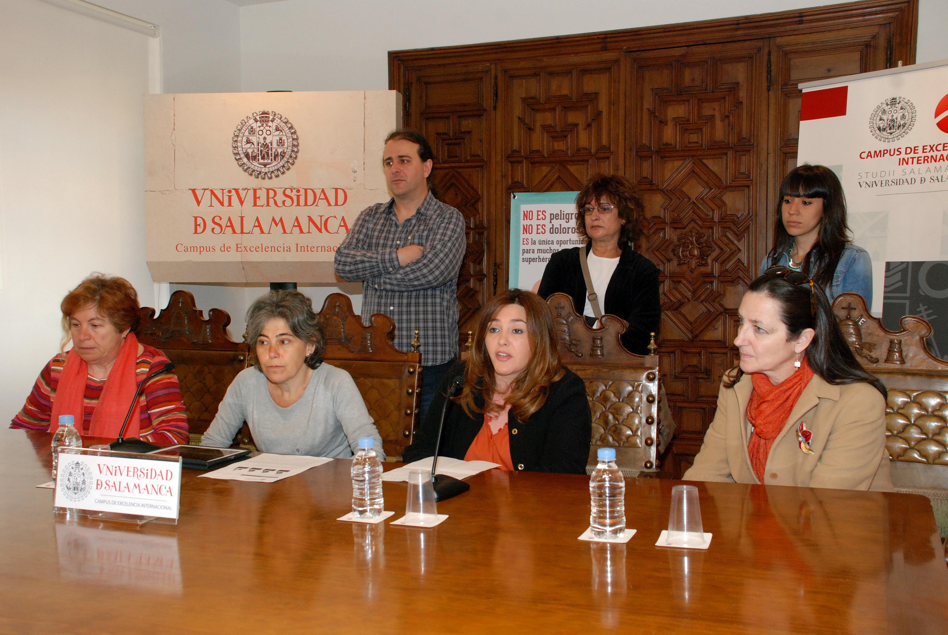 La Universidad de Salamanca participa en la campaña 'Dona médula, salva vidas', impulsada por la plataforma Unidos por la Médula