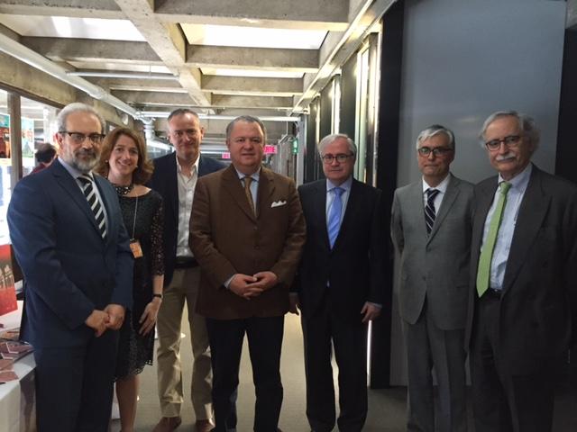 El rector, Daniel Hernández Ruipérez, asiste en Montreal a la inauguración del V Coloquio Internacional sobre la Enseñanza del Español Lengua Extranjera
