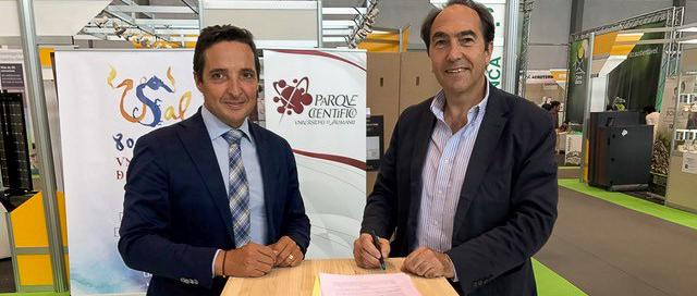 La empresa burgalesa de biotecnología Ficosterra se incorpora al Parque Científico de la Universidad de Salamanca