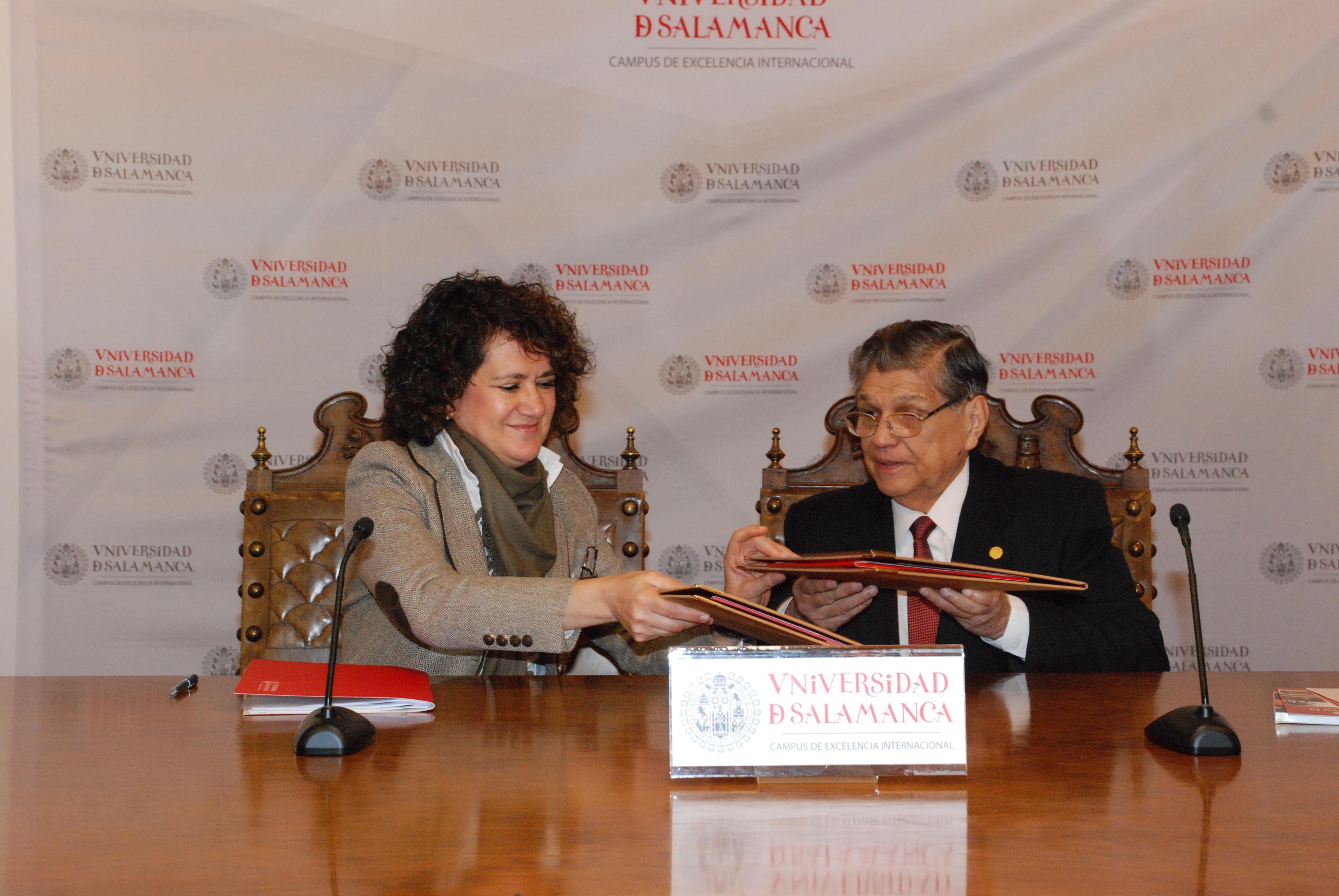 Las universidades de Salamanca y Nacional de Asunción  suscriben un convenio marco de colaboración