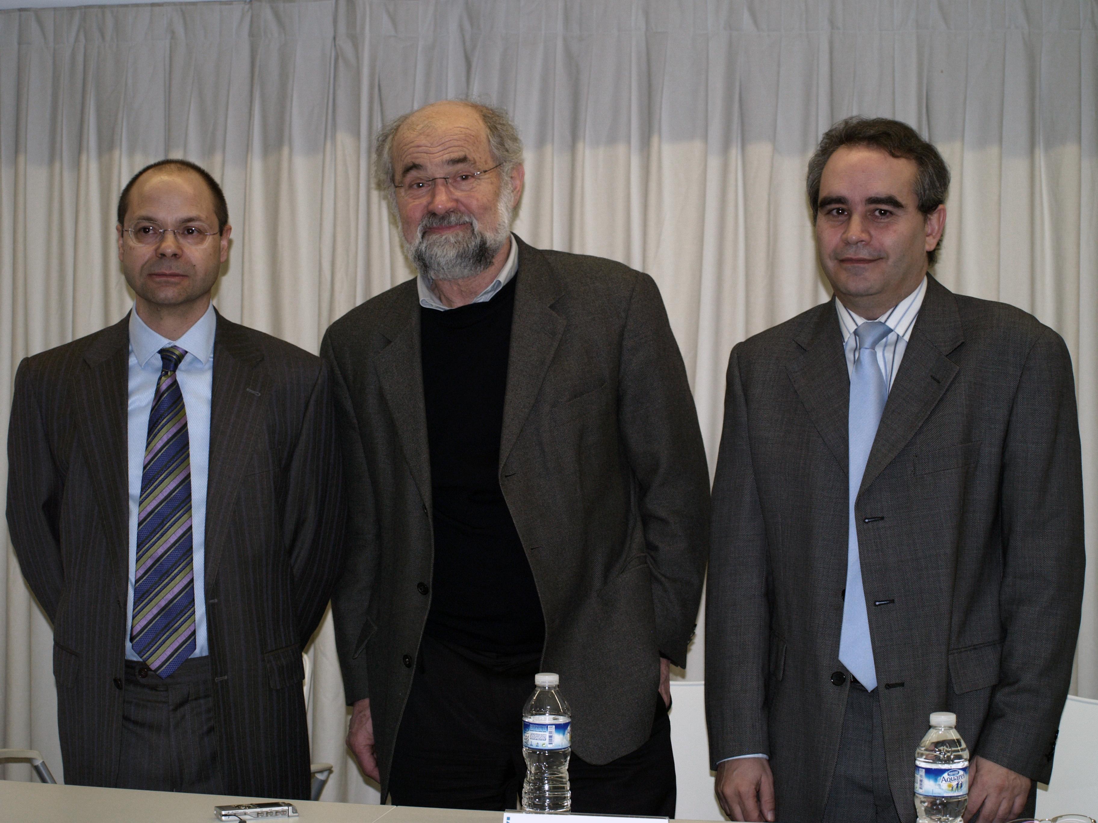 El Premio Nobel de Medicina Erwin Neher visita la Universidad de Salamanca para impartir un seminario en el INCYL