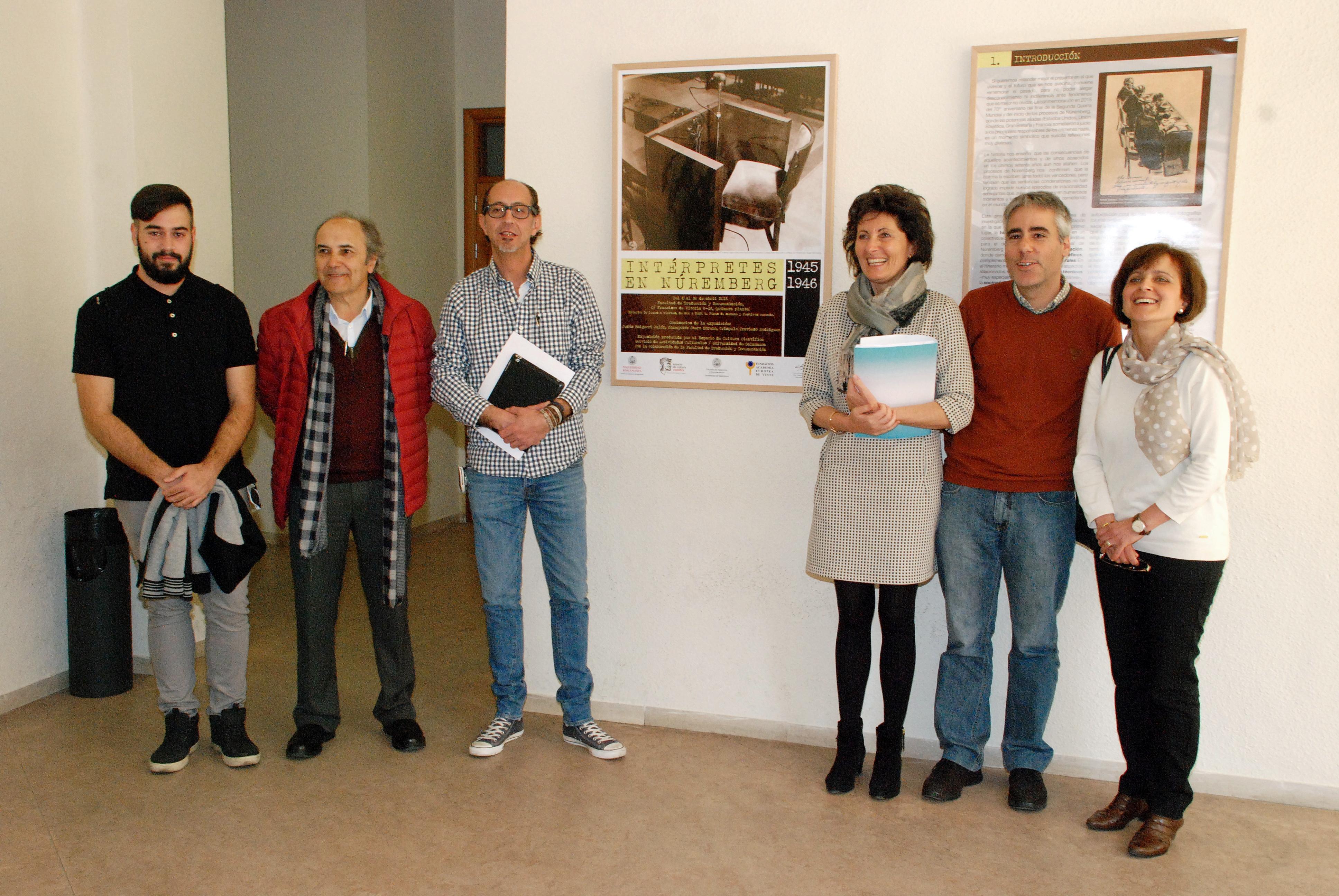 Actividades Culturales rememora el final de la Segunda Guerra Mundial con la exposición 'Intérpretes en Núremberg 1945-1946'