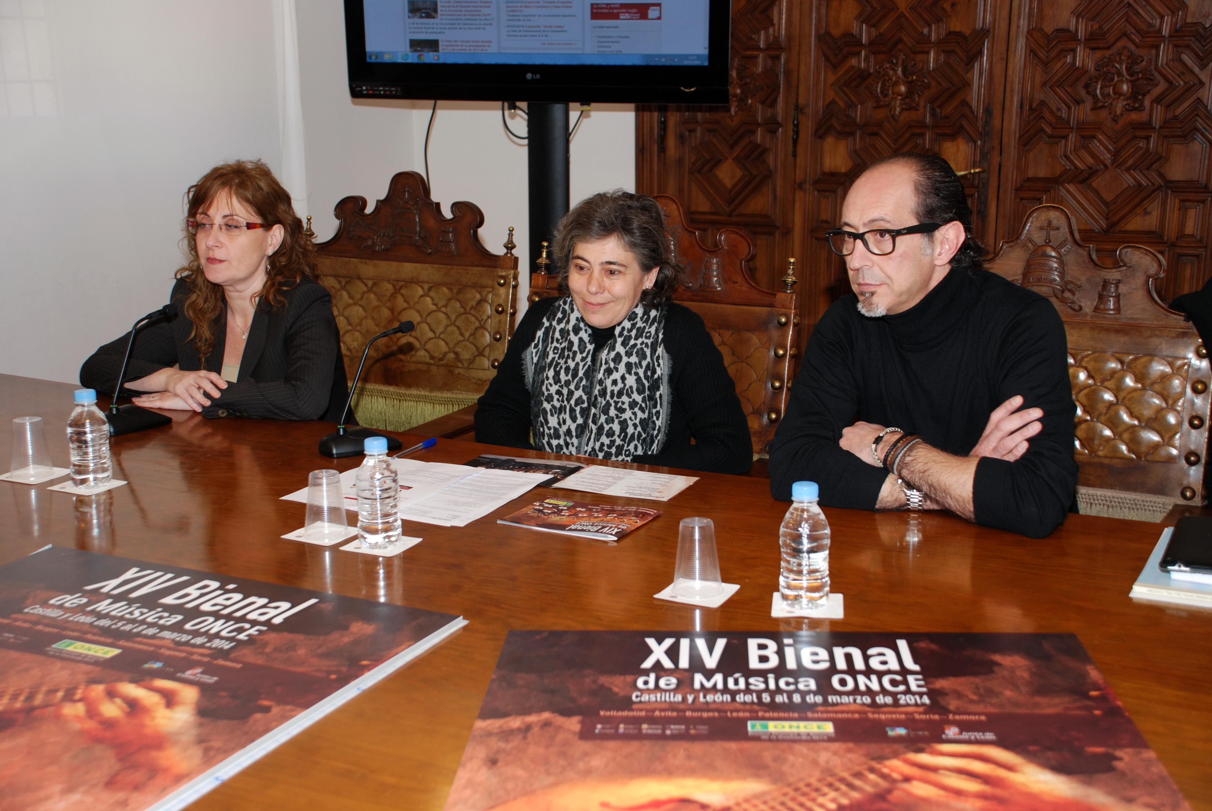 La Universidad de Salamanca acoge un concierto de la XIV Bienal de Música de la ONCE