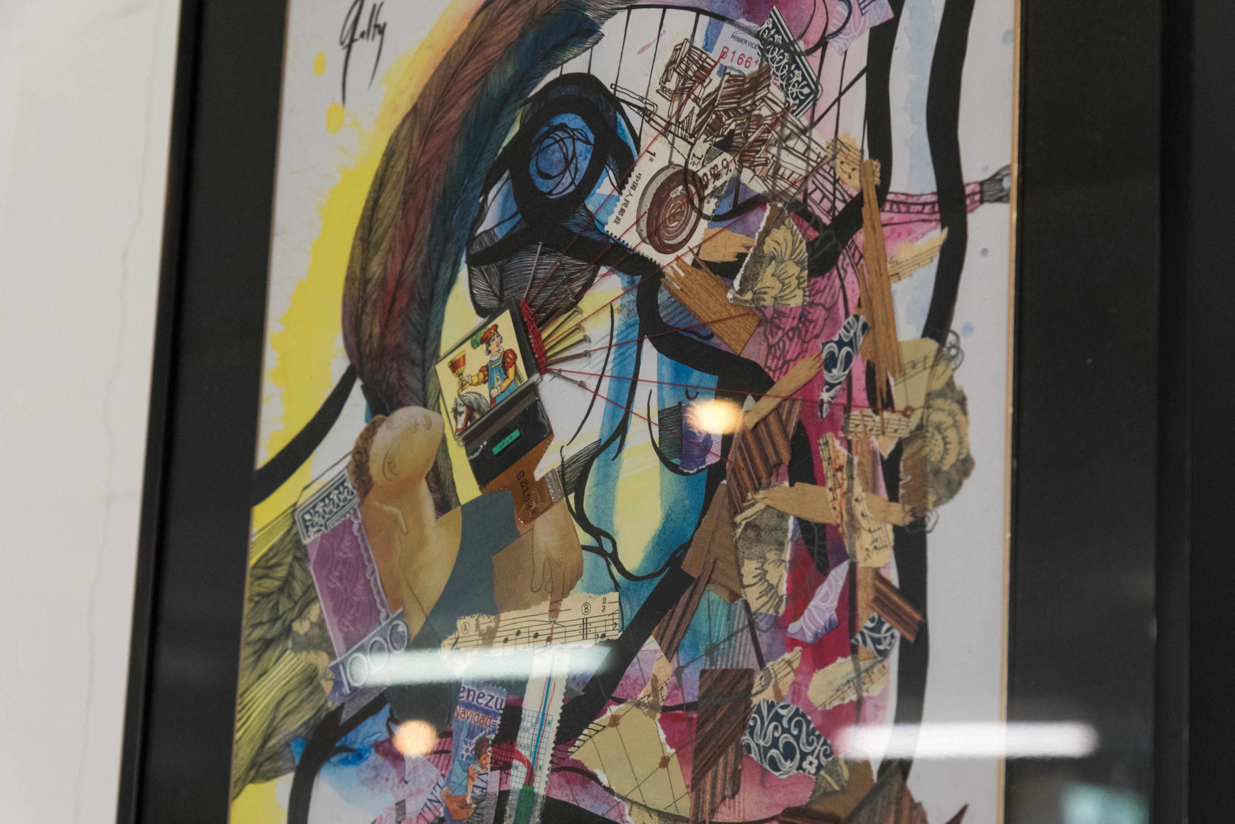 La Facultad de Geografía e Historia acoge la exposición 'Mujeres. Discursos Plásticos' que reflexiona sobre el sexismo y la violencia machista