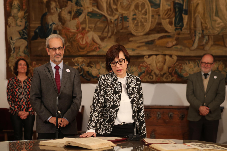 El rector preside la toma de posesión de los nuevos cargos académicos