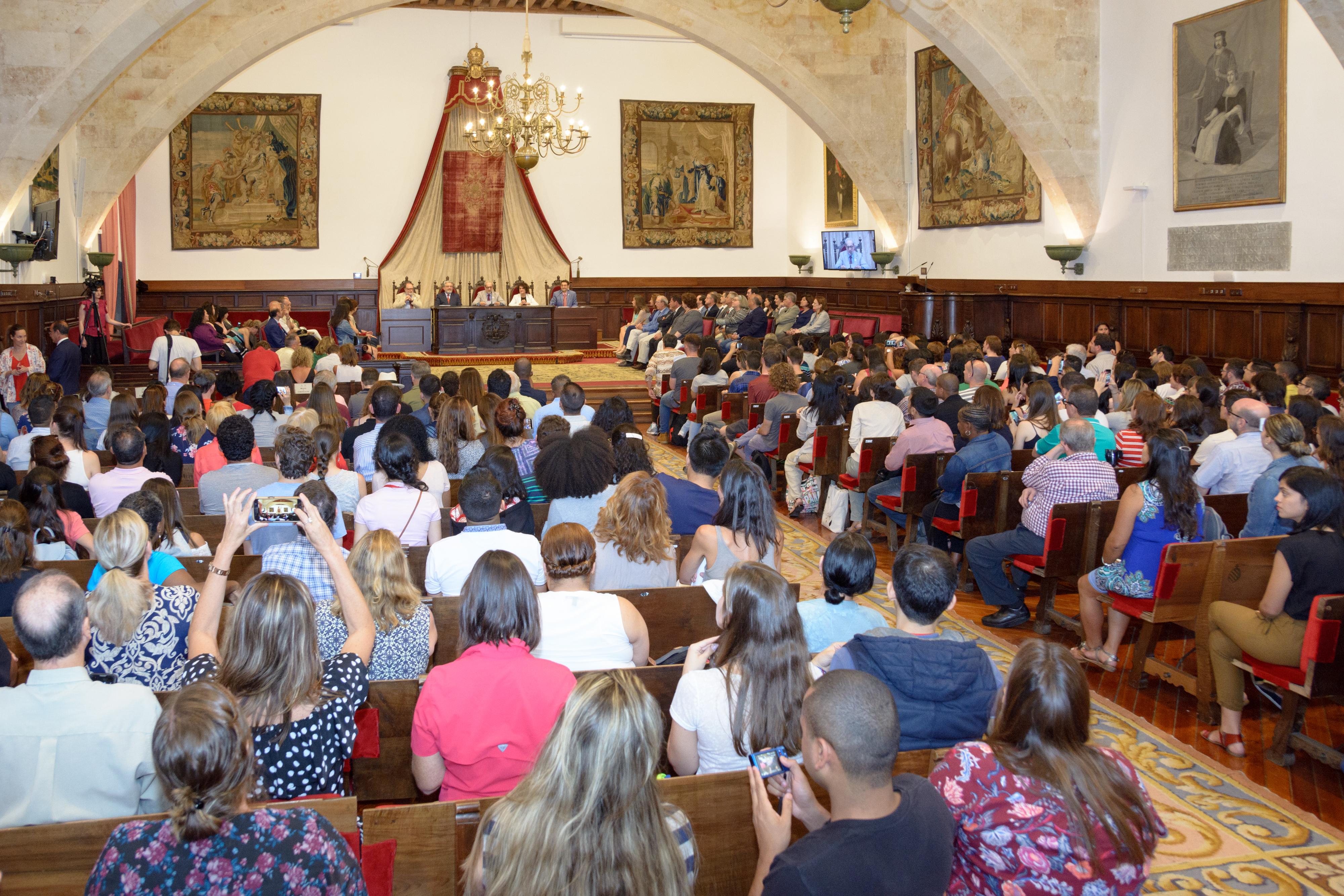 Casi 1.600 estudiantes extranjeros eligen la Universidad de Salamanca para aprender español este verano