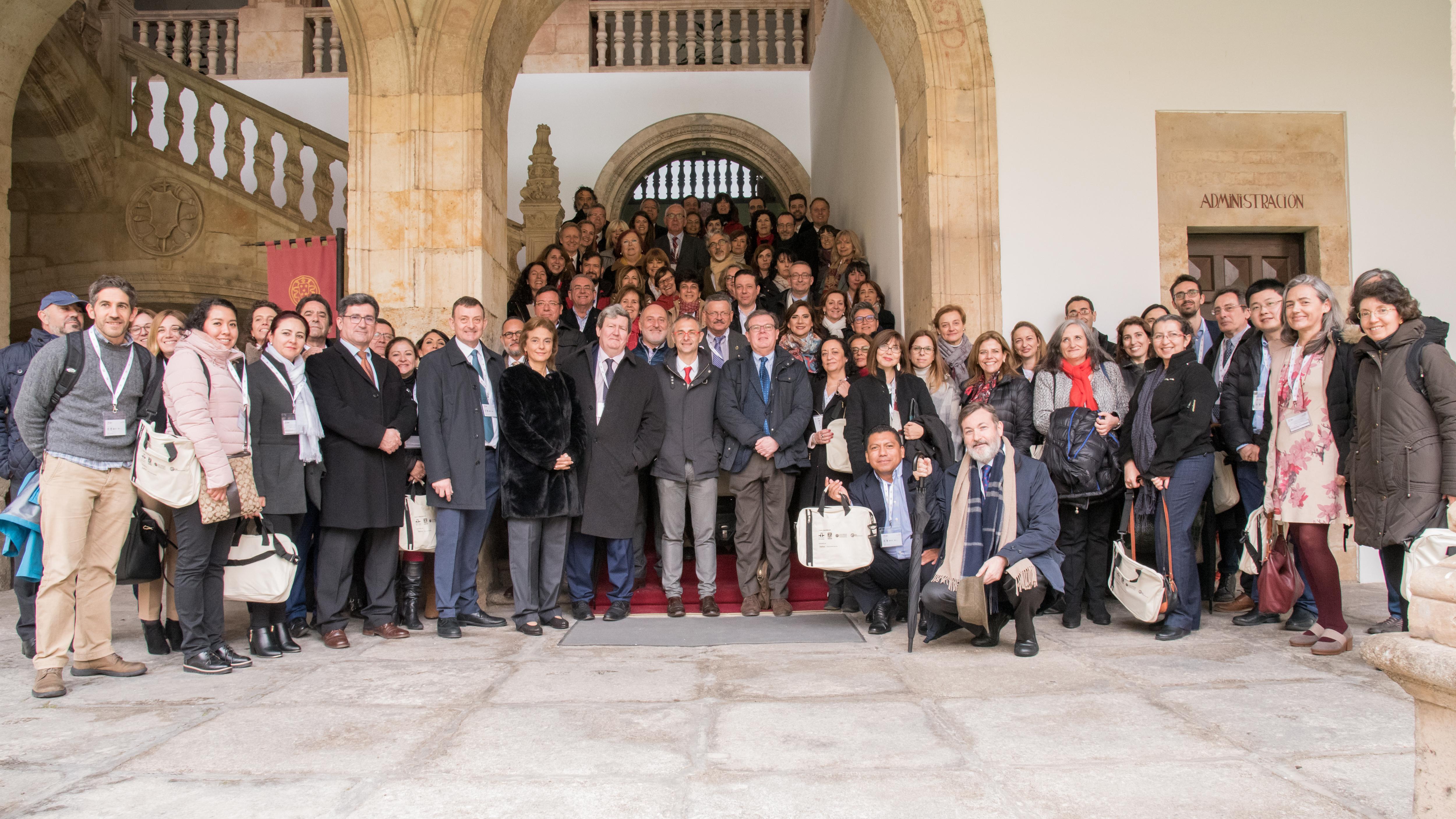 Más de 70 universidades e instituciones educativas del ámbito hispanoamericano impulsan en la Universidad de Salamanca la implantación del SIELE