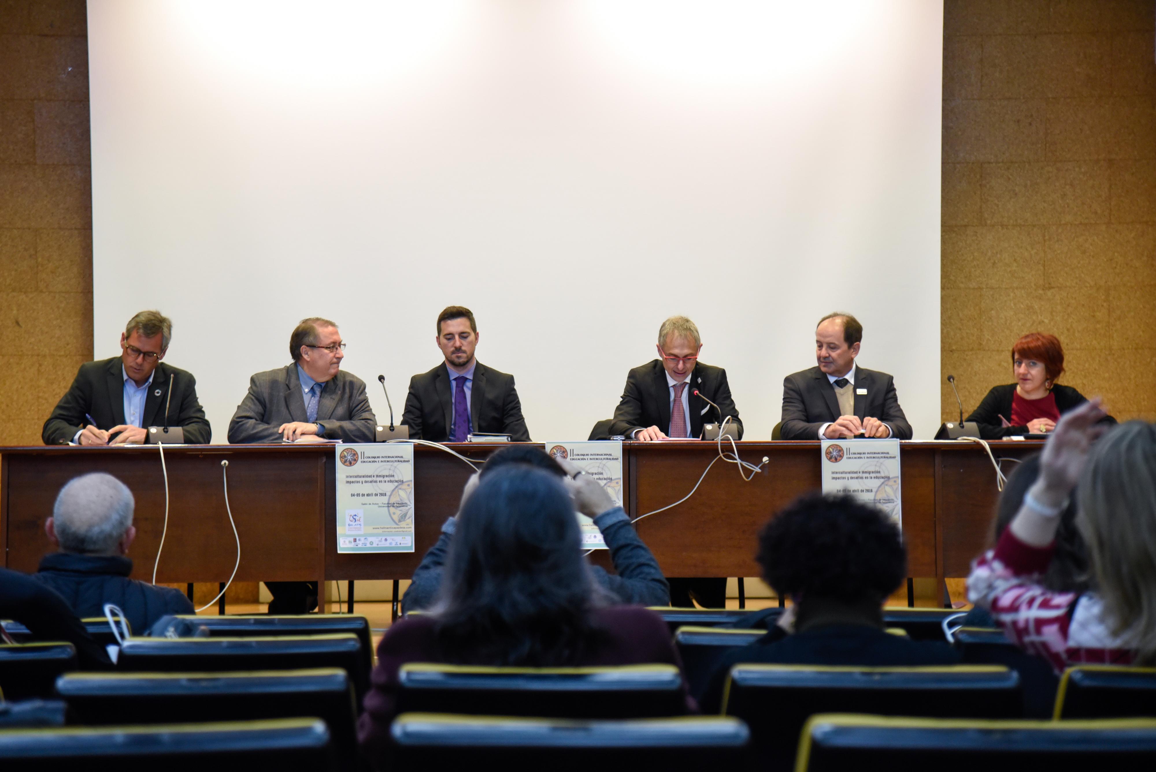 La Universidad de Salamanca inaugura el II Coloquio internacional sobre Educación e Interculturalidad