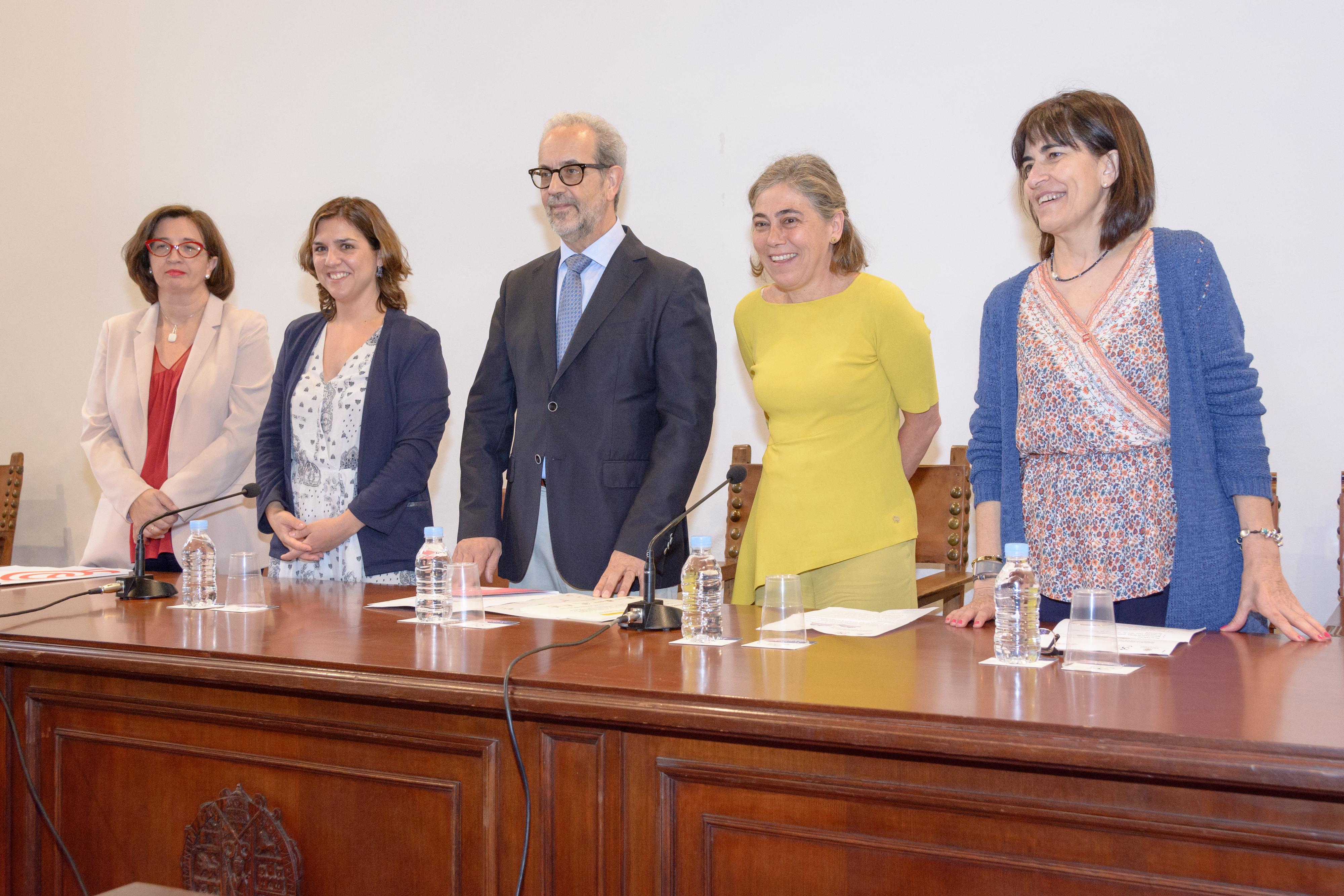 El rector de la Universidad de Salamanca clausura el programa 'Campus Inclusivos, Campus sin Límites 2017'
