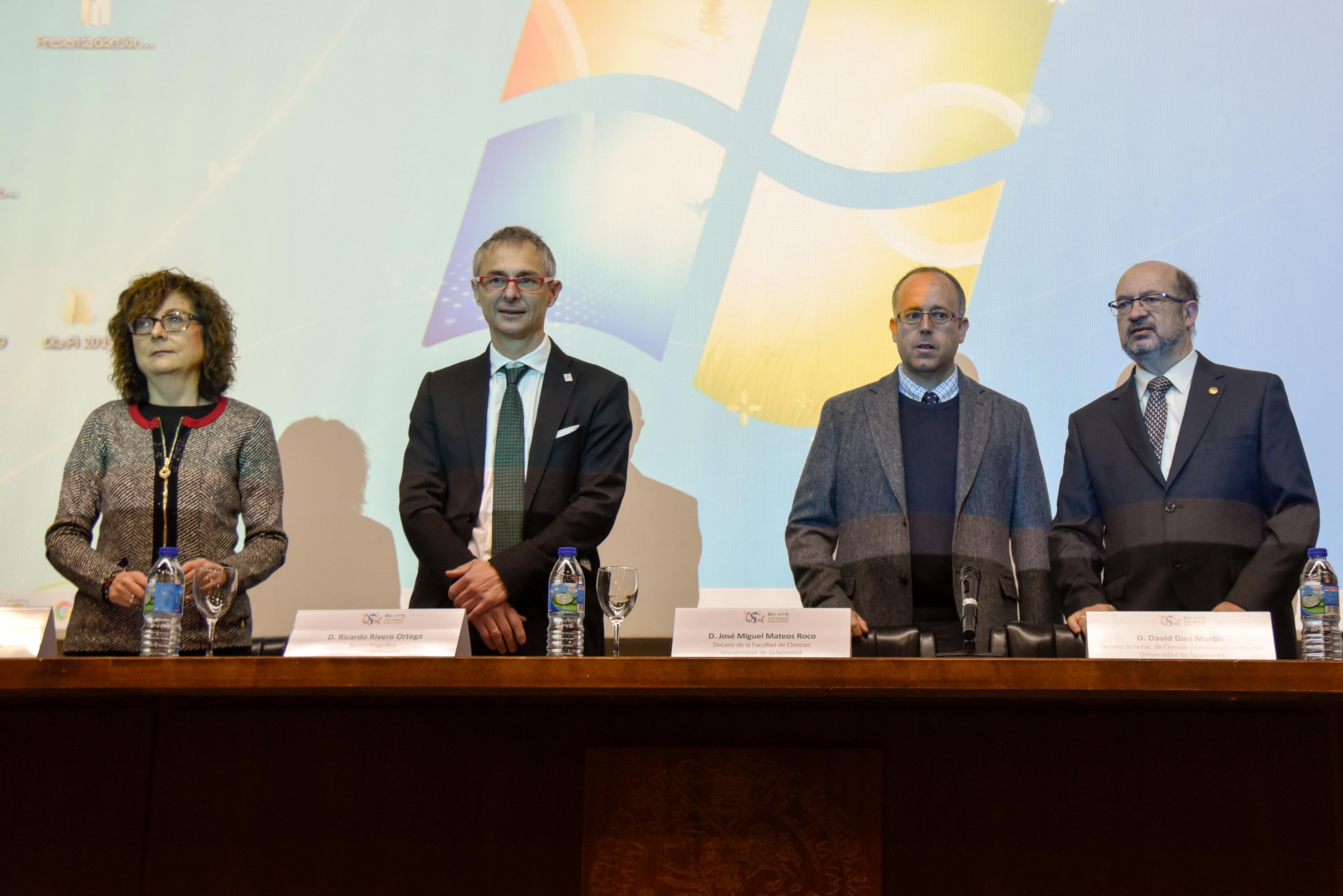 Las facultades de Ciencias y Ciencias Químicas de la USAL organizan las 'Jornadas sobre Wolframio en Salamanca', con motivo del 150 Aniversario de la Tabla Periódica