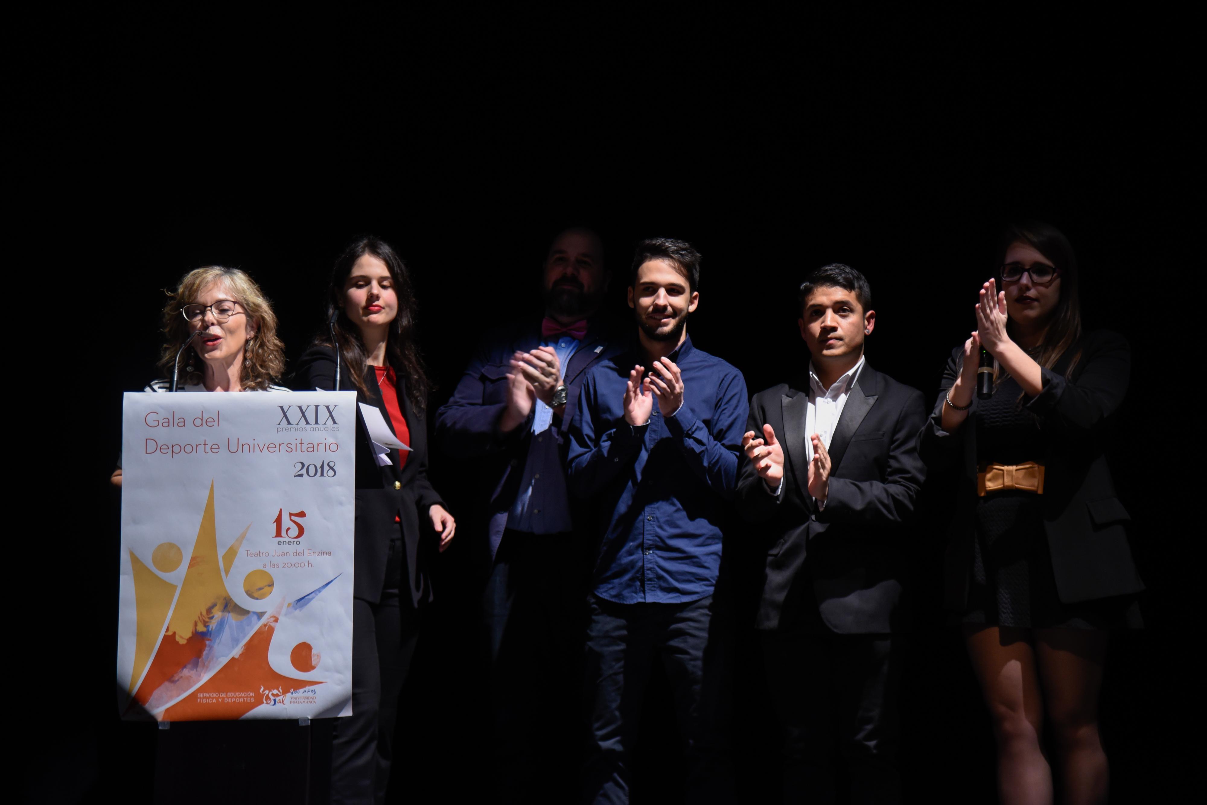 El Servicio de Educación Física y Deportes de la Universidad de Salamanca entrega los XXIX Premios Anuales del Deporte Universitario