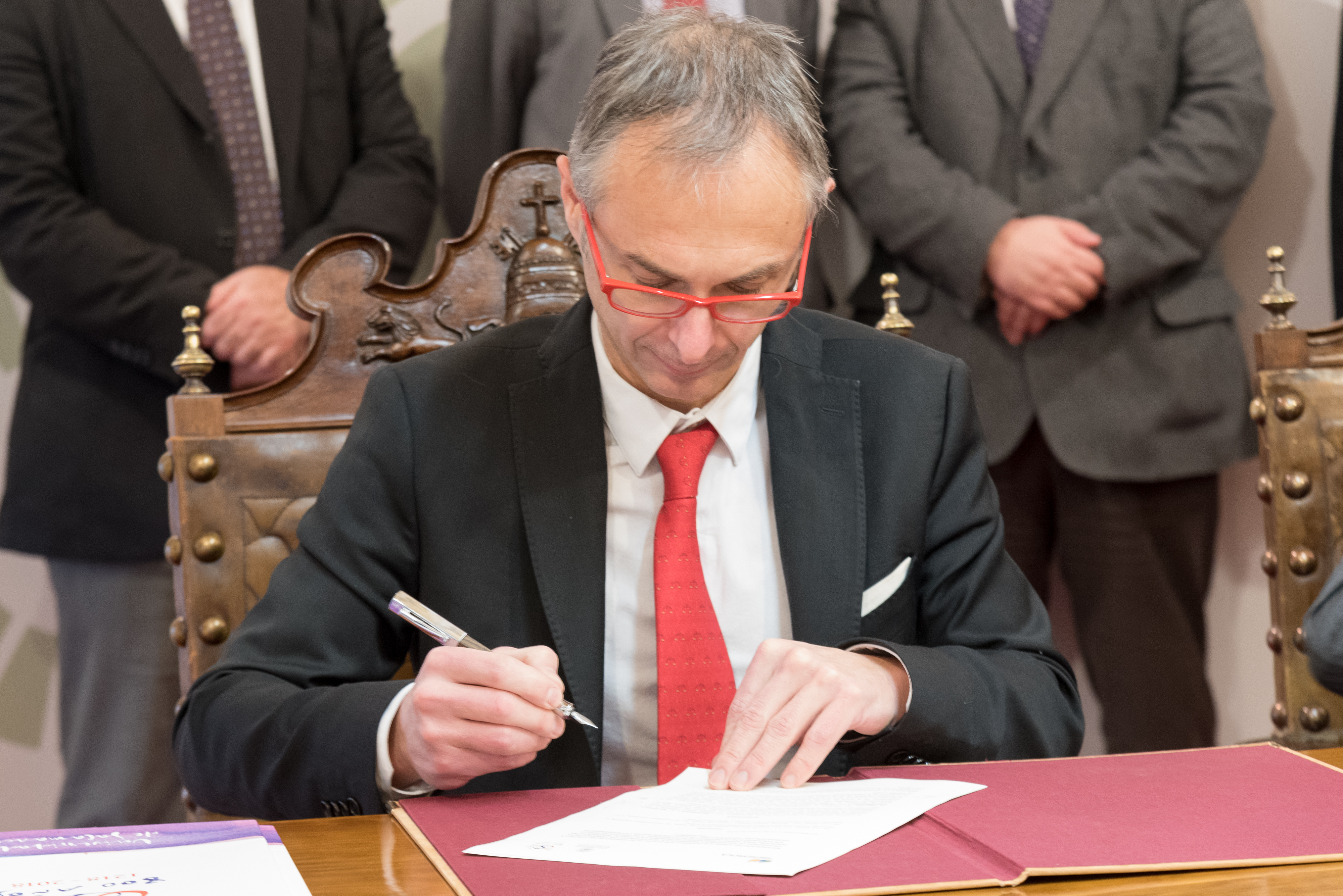 La Universidad de Salamanca e Iberdrola firman un acuerdo para la celebración de la Conferencia Iberoamericana sobre Objetivos de Desarrollo Sostenible