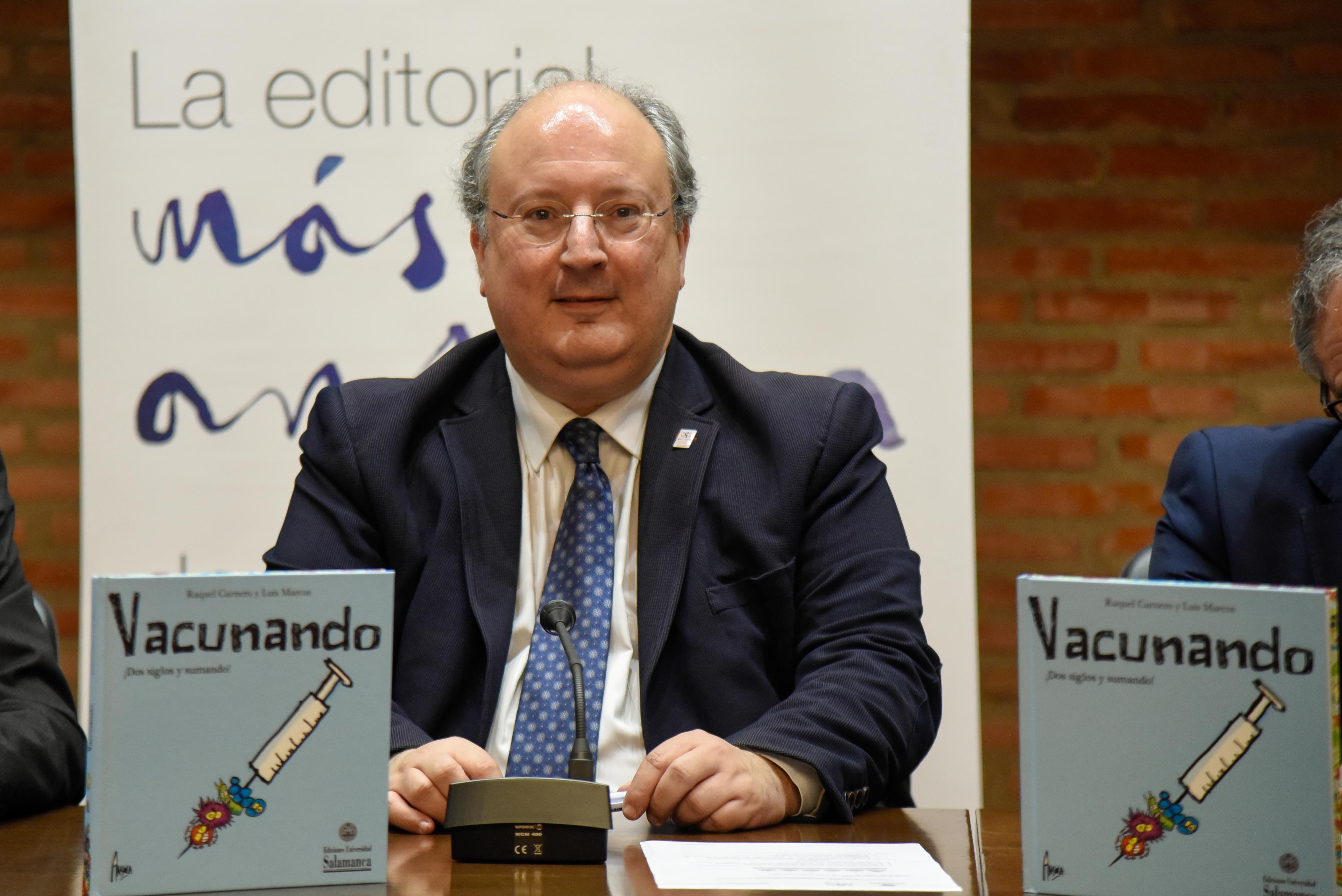 Ediciones Universidad de Salamanca presenta un libro de divulgación científica sobre vacunas