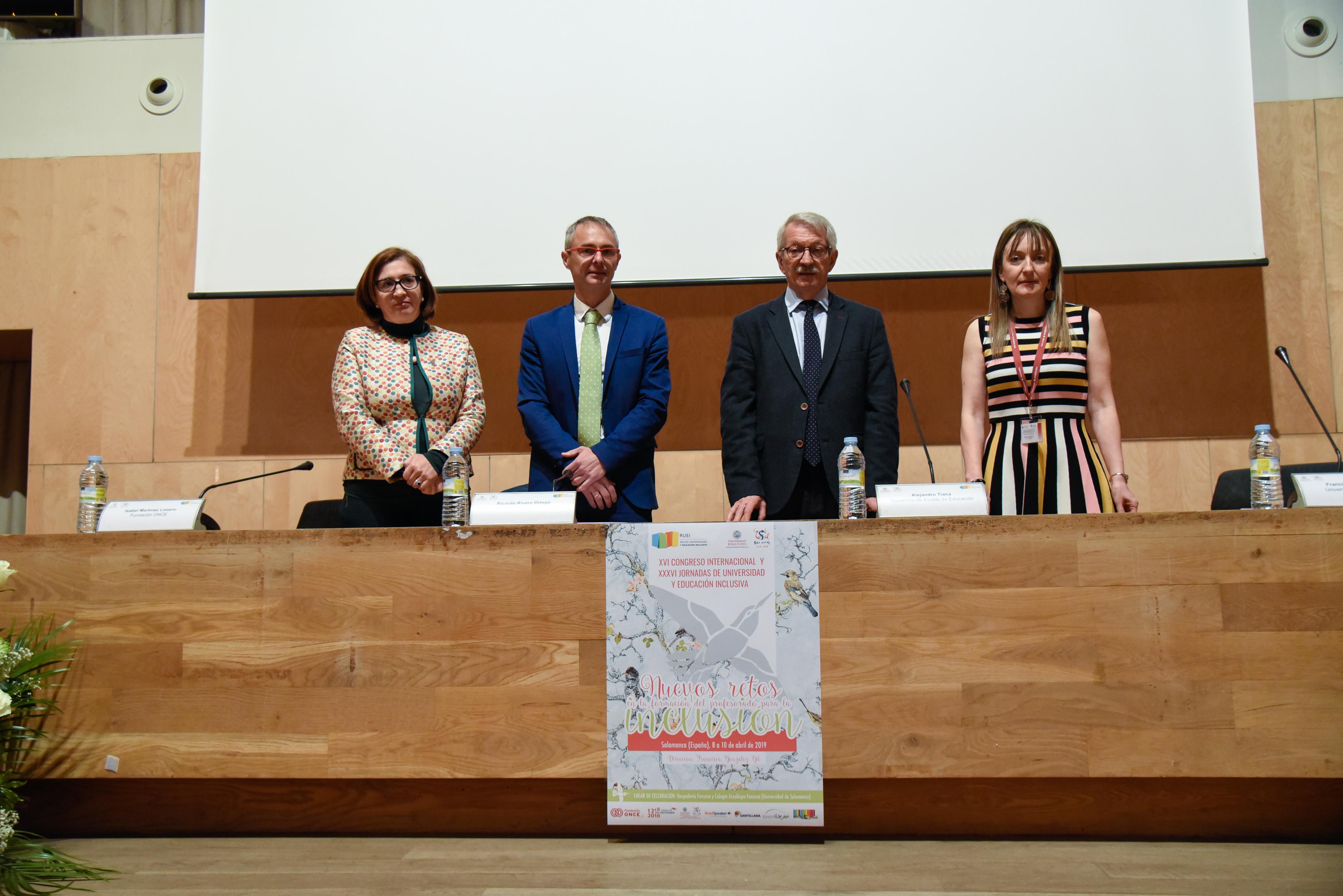 """La Universidad de Salamanca inaugura el XVI congreso Internacional """"Nuevos retos en la formación del profesorado para la inclusión"""""""
