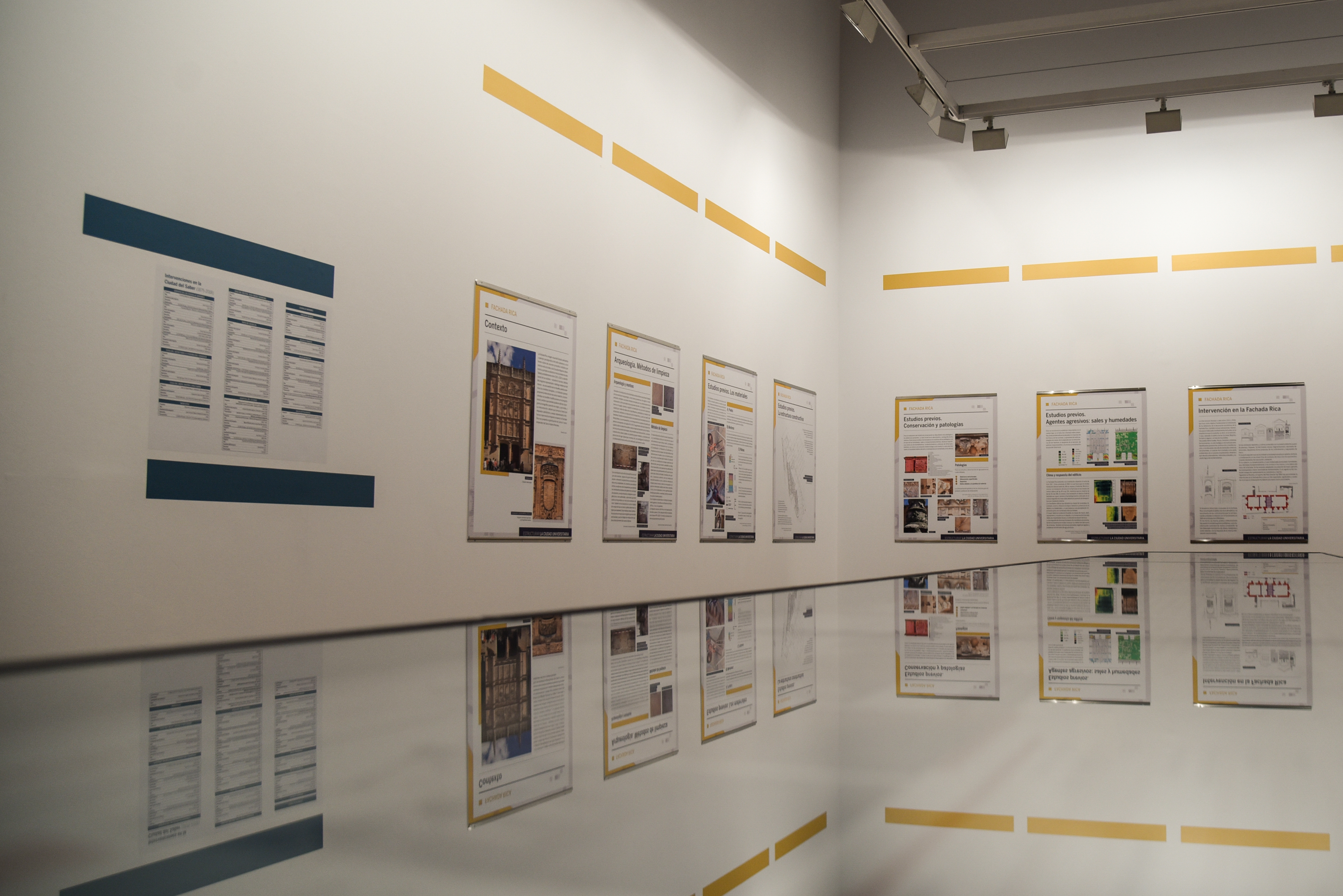 La exposición 'Estructurar la ciudad universitaria' propone un recorrido visual y didáctico por el patrimonio arquitectónico de la Universidad de Salamanca