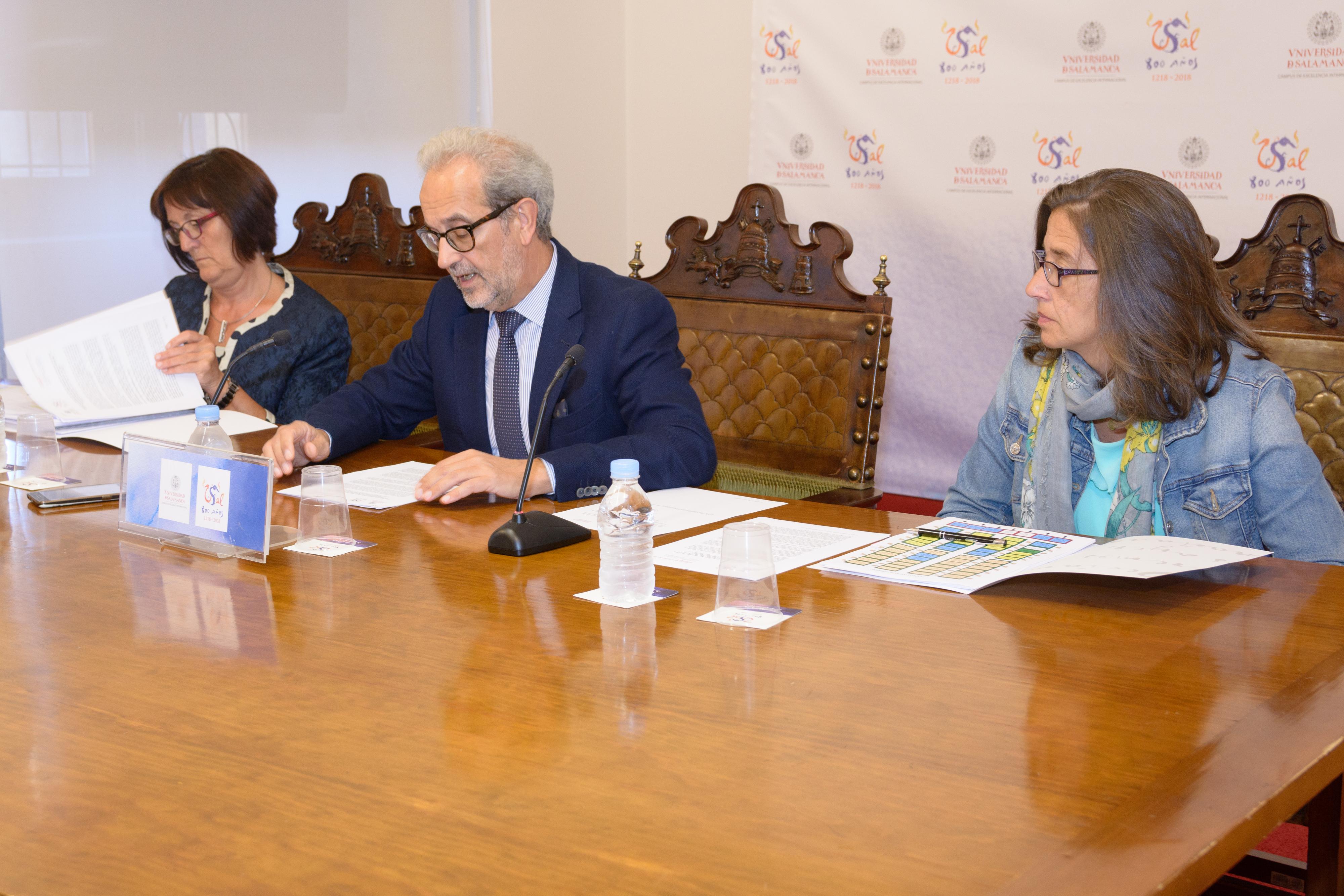 La Oferta de plazas de profesorado permanente de la Universidad de Salamanca durante 2017 constará de 129 plazas
