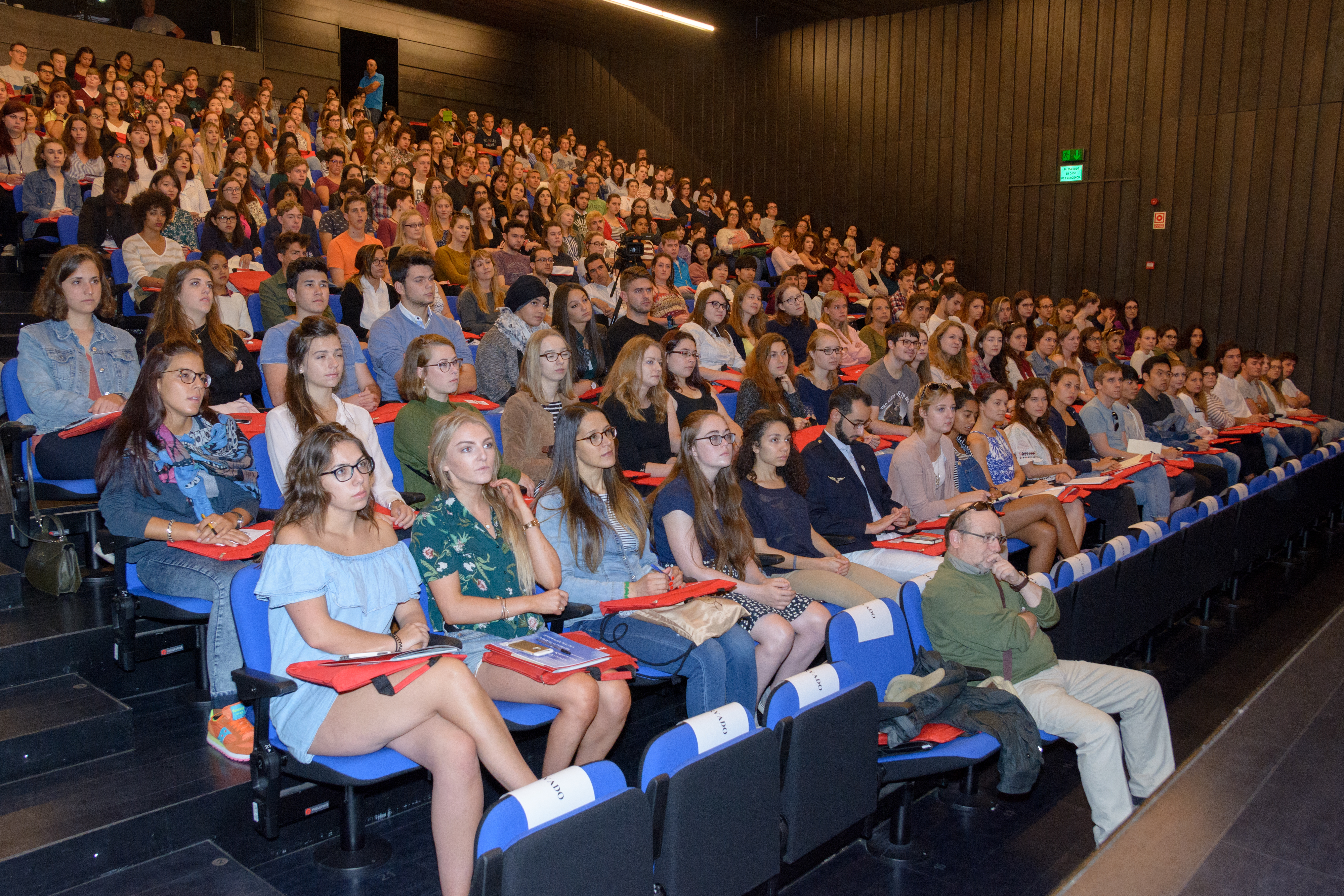 La Universidad de Salamanca recibe a 800 estudiantes extranjeros de los programas de movilidad internacional