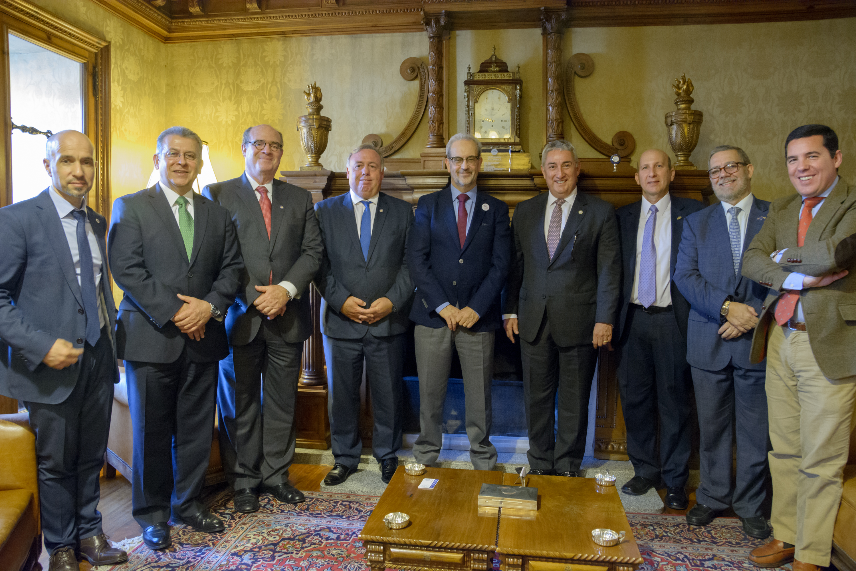 La Federación Interamericana de Abogados visita la Universidad de Salamanca