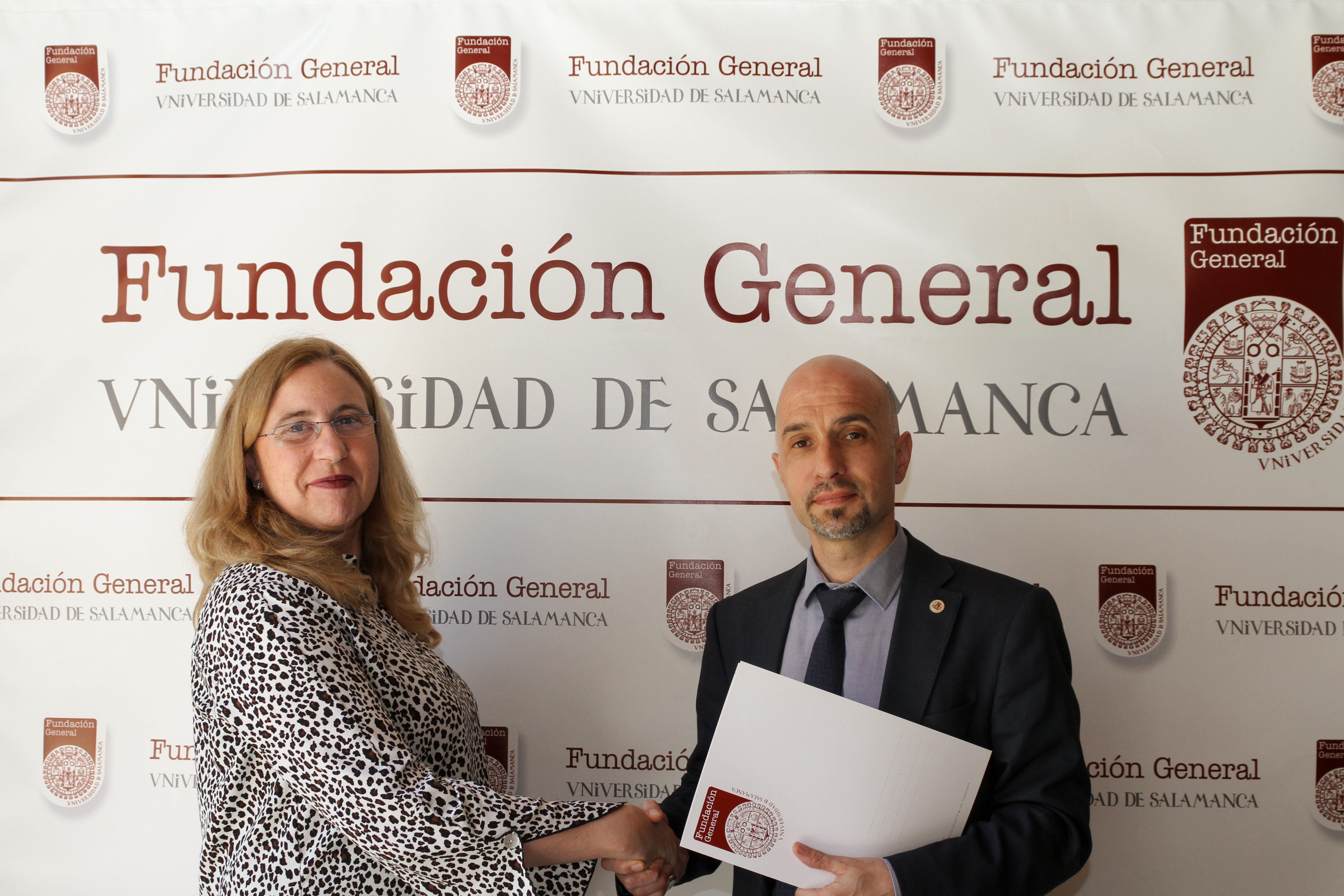 La Fundación General de la Universidad de Salamanca y la Asociación Ariadna suscriben un convenio de colaboración