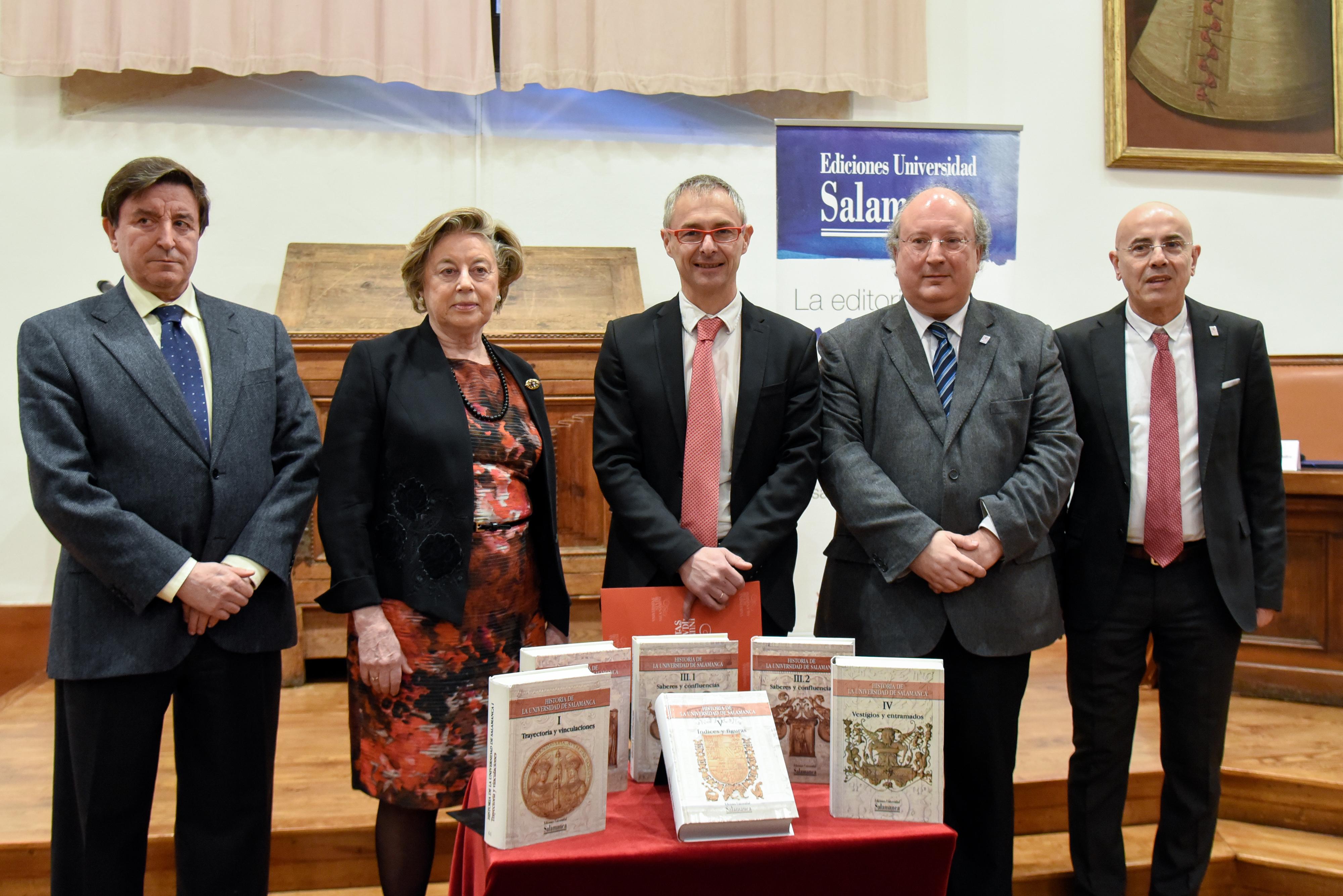La entrega final de la 'Historia de la Universidad de Salamanca' reedita la revisión biográfica del rector Enrique Esperabé de los personajes ilustres del Estudio