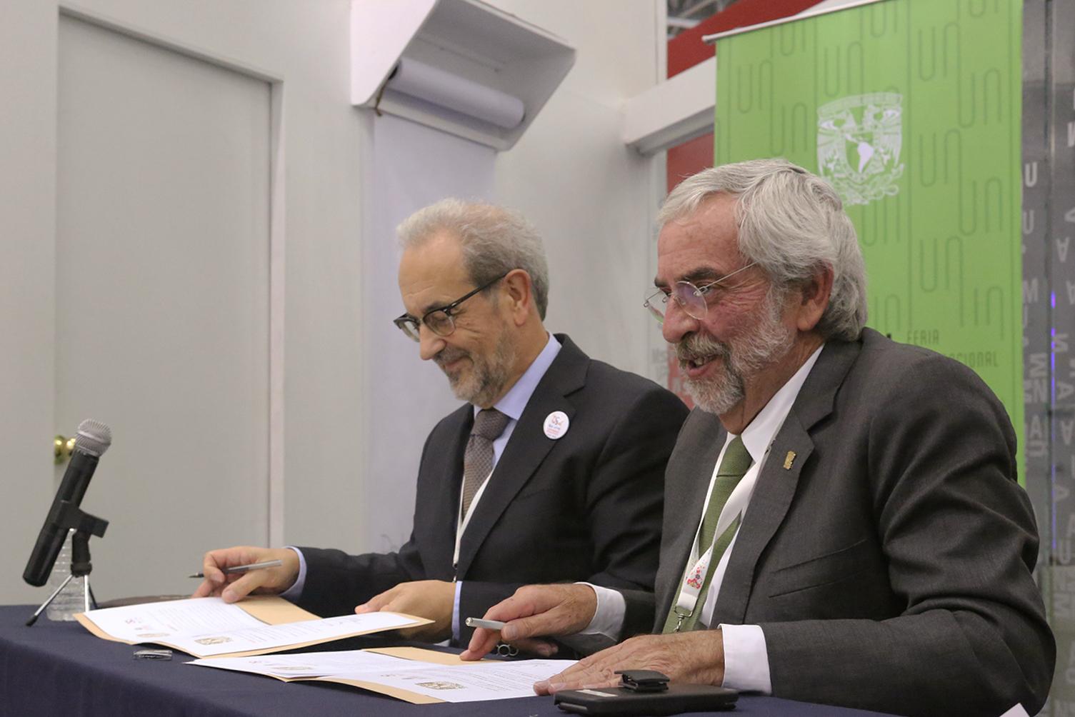 La USAL y la UNAM crearán una cátedra conjunta para el estudio de las relaciones entre México y España