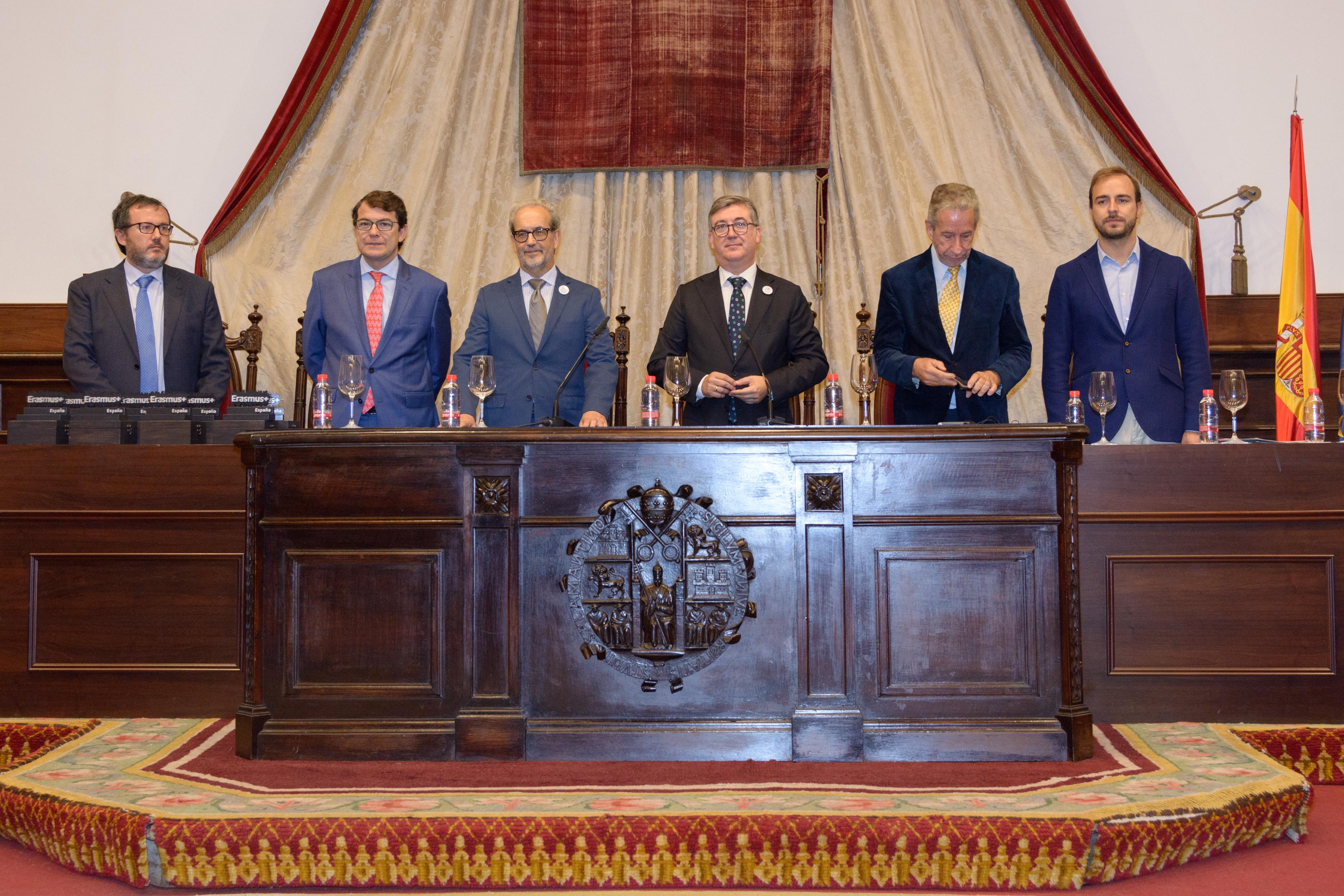 La Universidad de Salamanca acoge el acto de celebración del 30 aniversario del programa Erasmus+