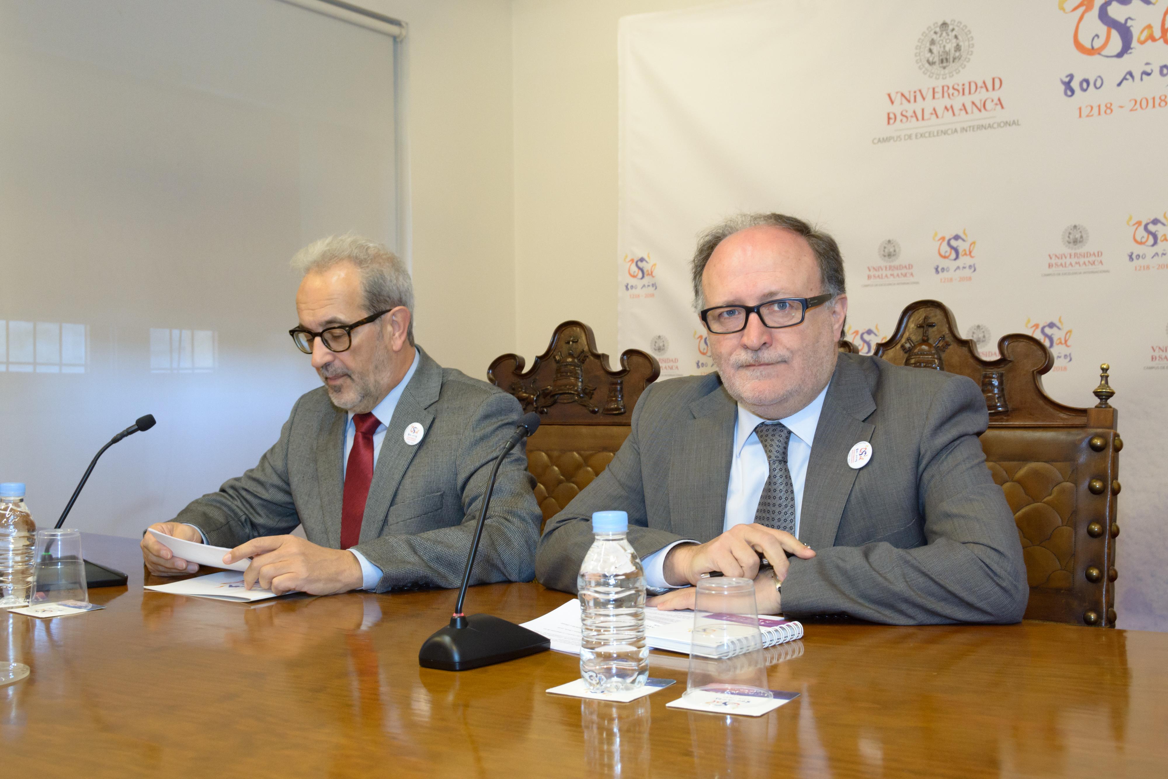 Presentación reuniones institucionales Octavo Centenario