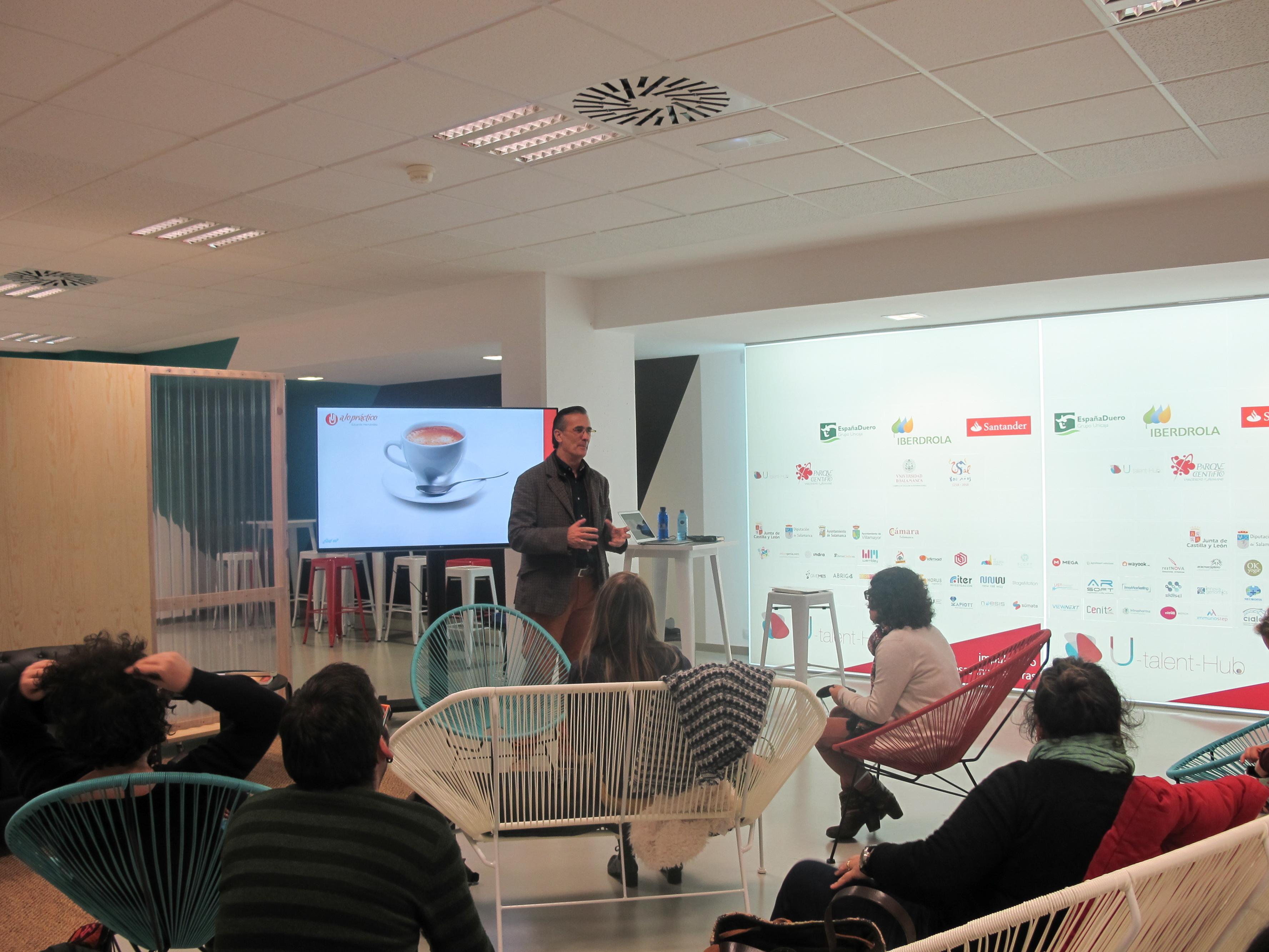 El U-Talent-Hub del Parque Científico de la USAL acogió un taller de 'Iniciación al Mindfulness'
