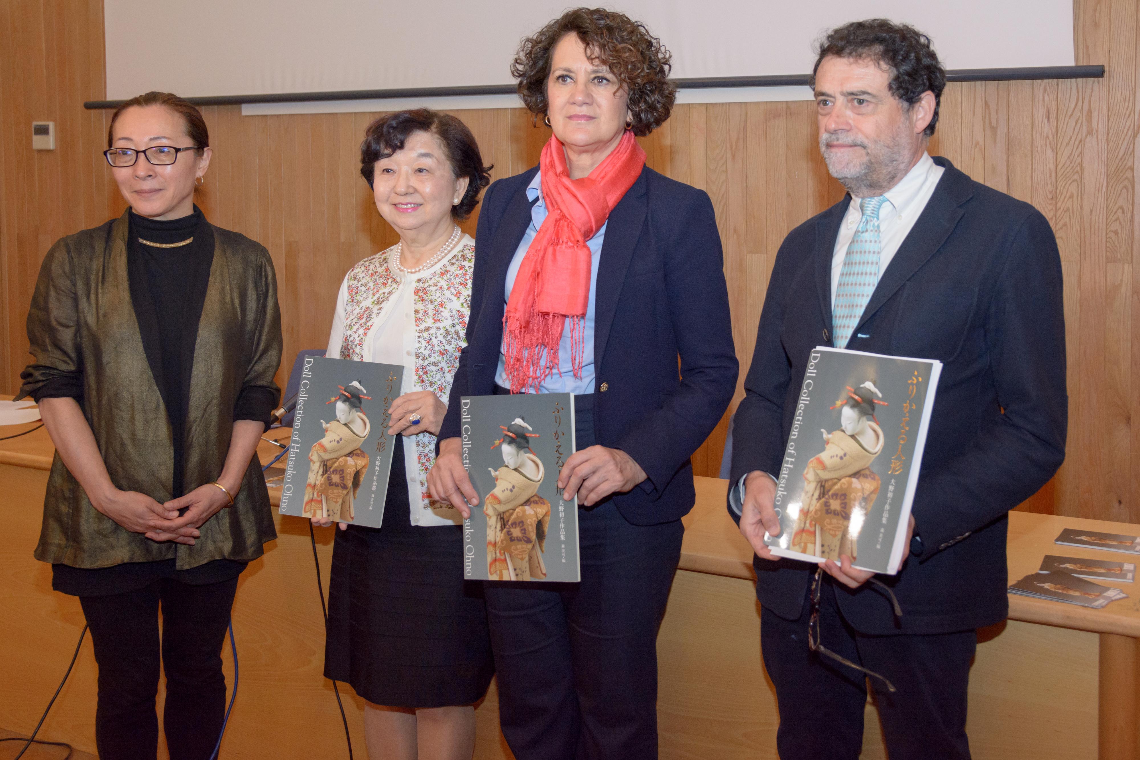 El Centro Cultural Hispano-Japonés inaugura una exposición sobre las muñecas artísticas japonesas de Ohno Hatsuko
