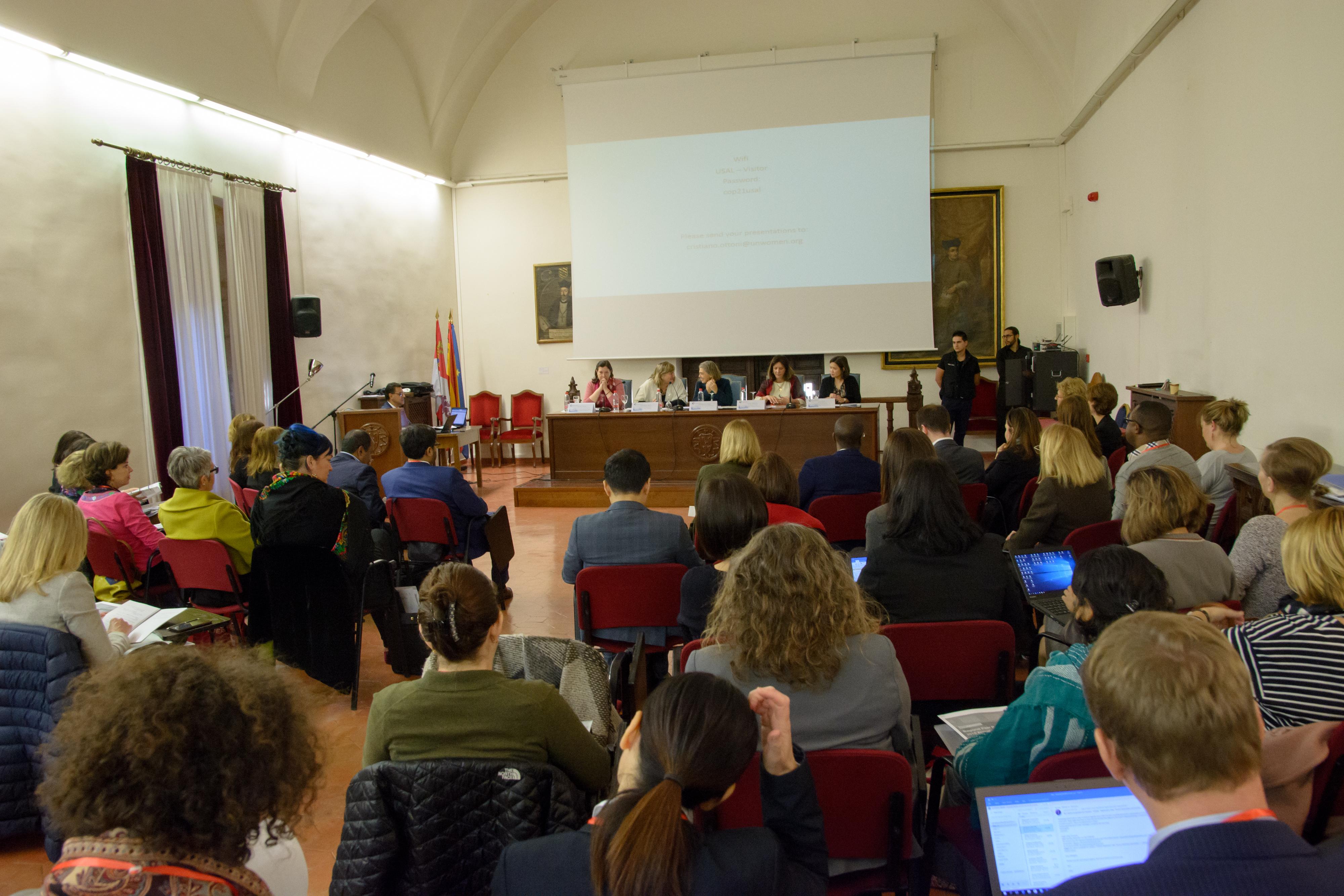 Encuentro coordinación anual ONU Mujeres