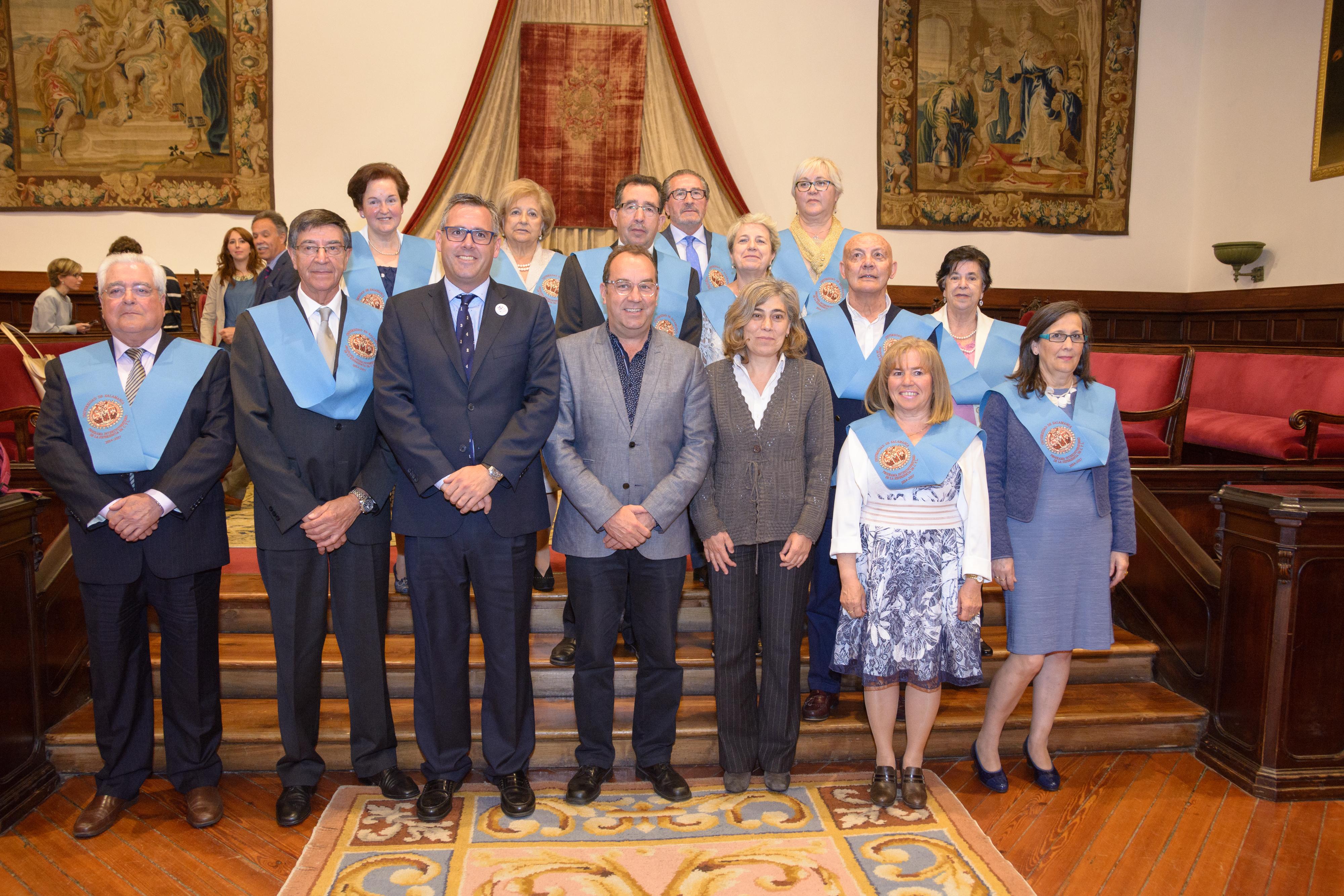 Un total de 140 alumnos mayores de 55 años se gradúan en la XIII Promoción del Programa Interuniversitario de la Experiencia
