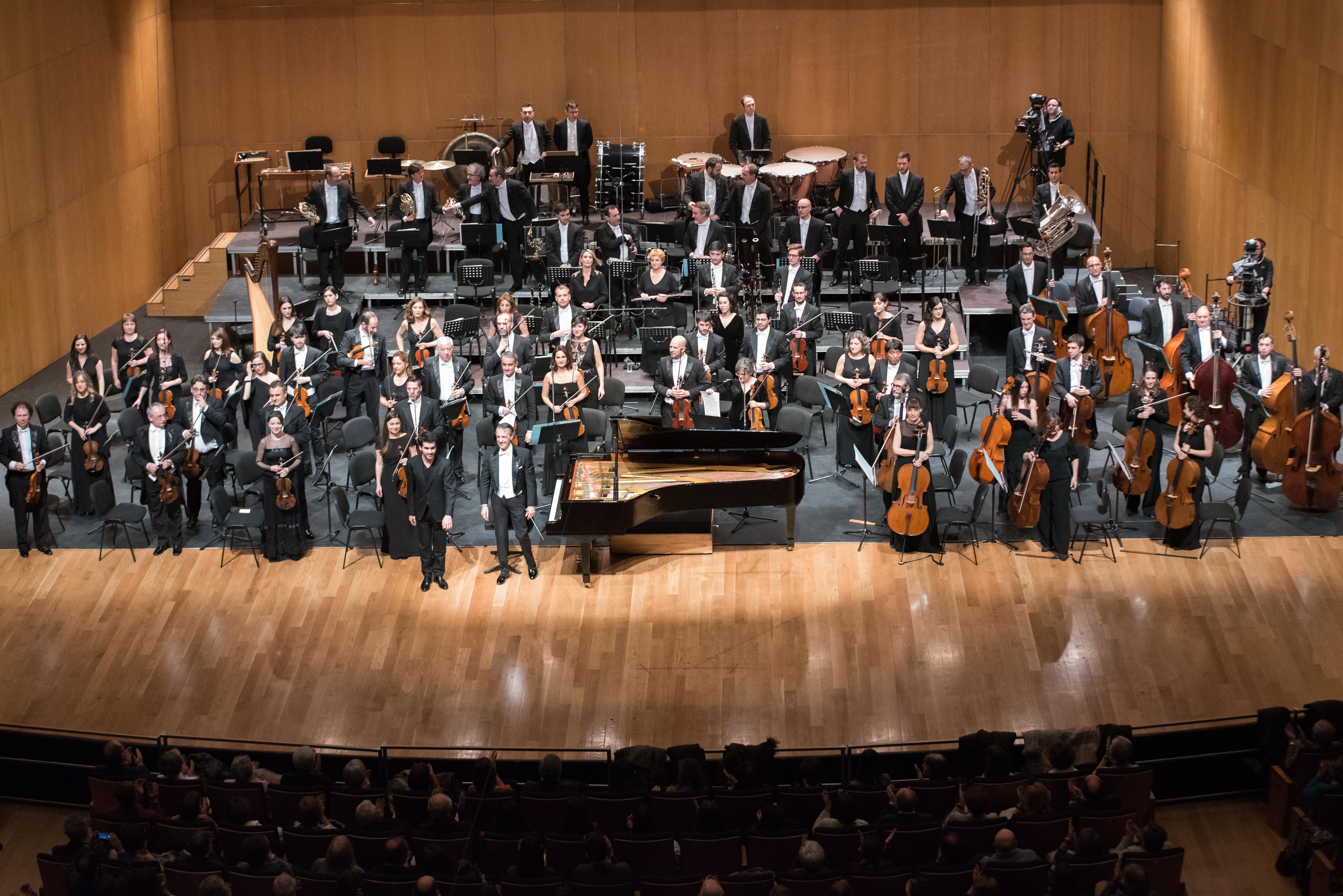 La Orquesta Sinfónica RTVE conmemora el VIII Centenario de la Universidad de Salamanca