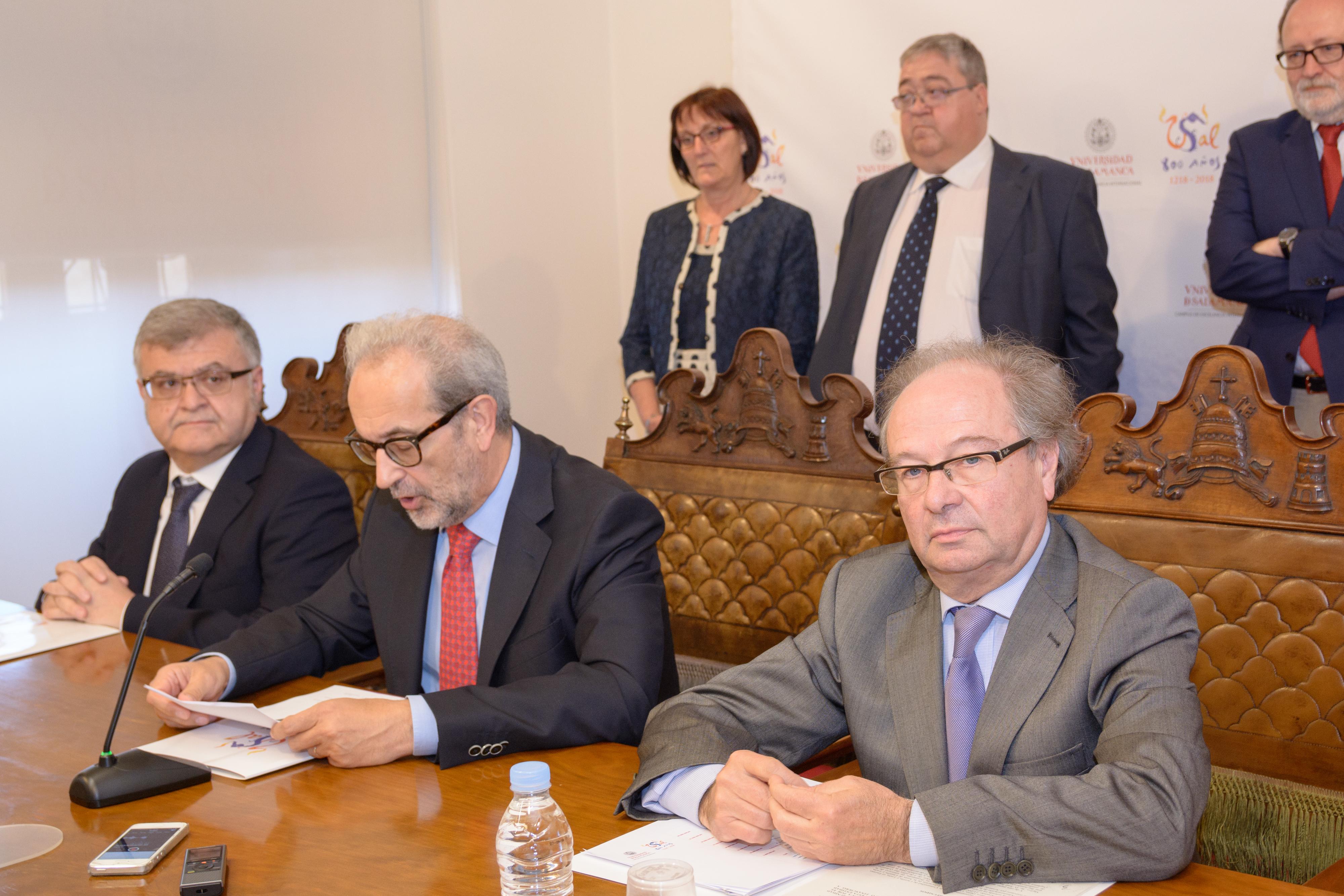 La Universidad de Salamanca cancela de forma anticipada su deuda histórica