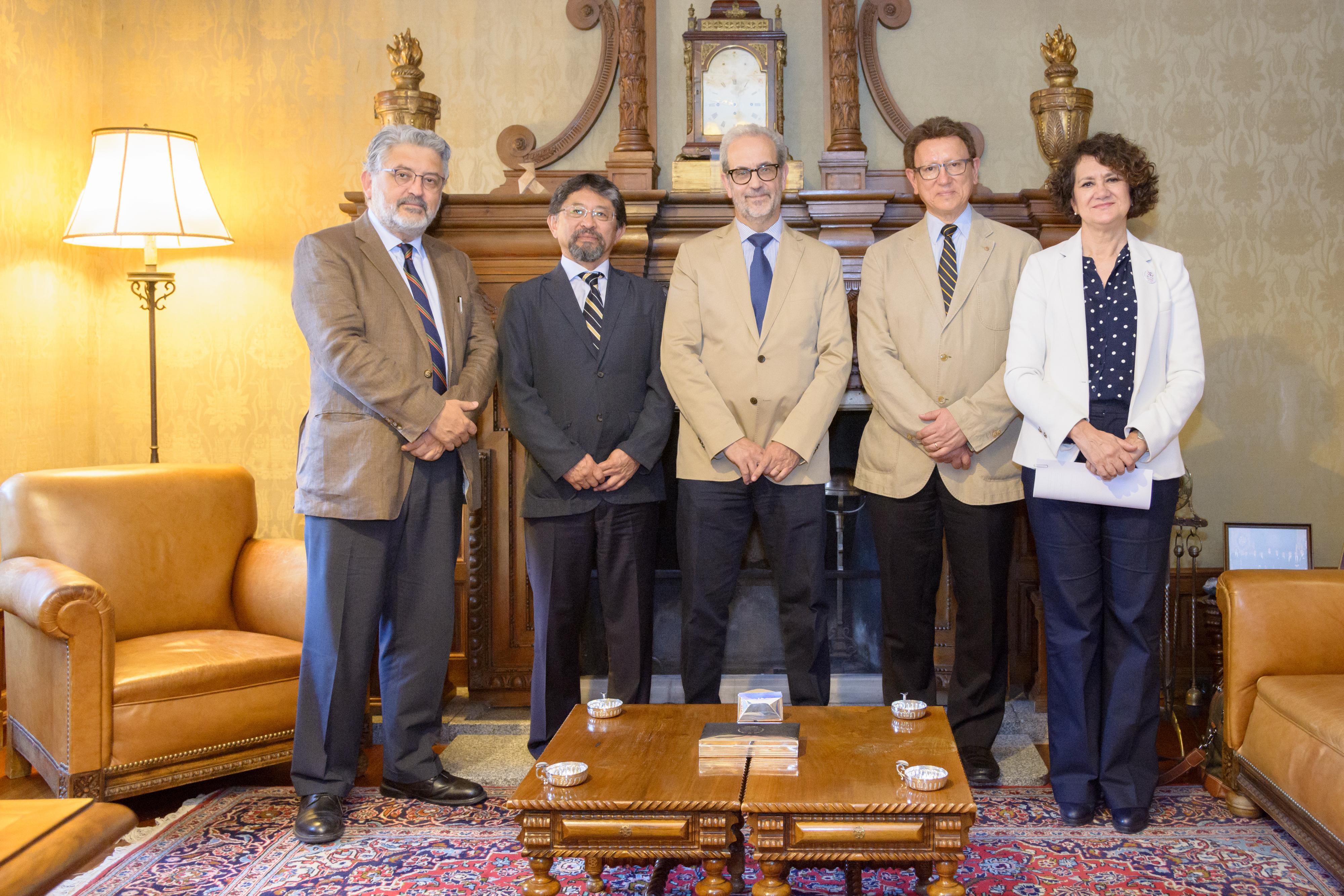 La Universidad de Salamanca y la UNAM afianzan sus relaciones estratégicas