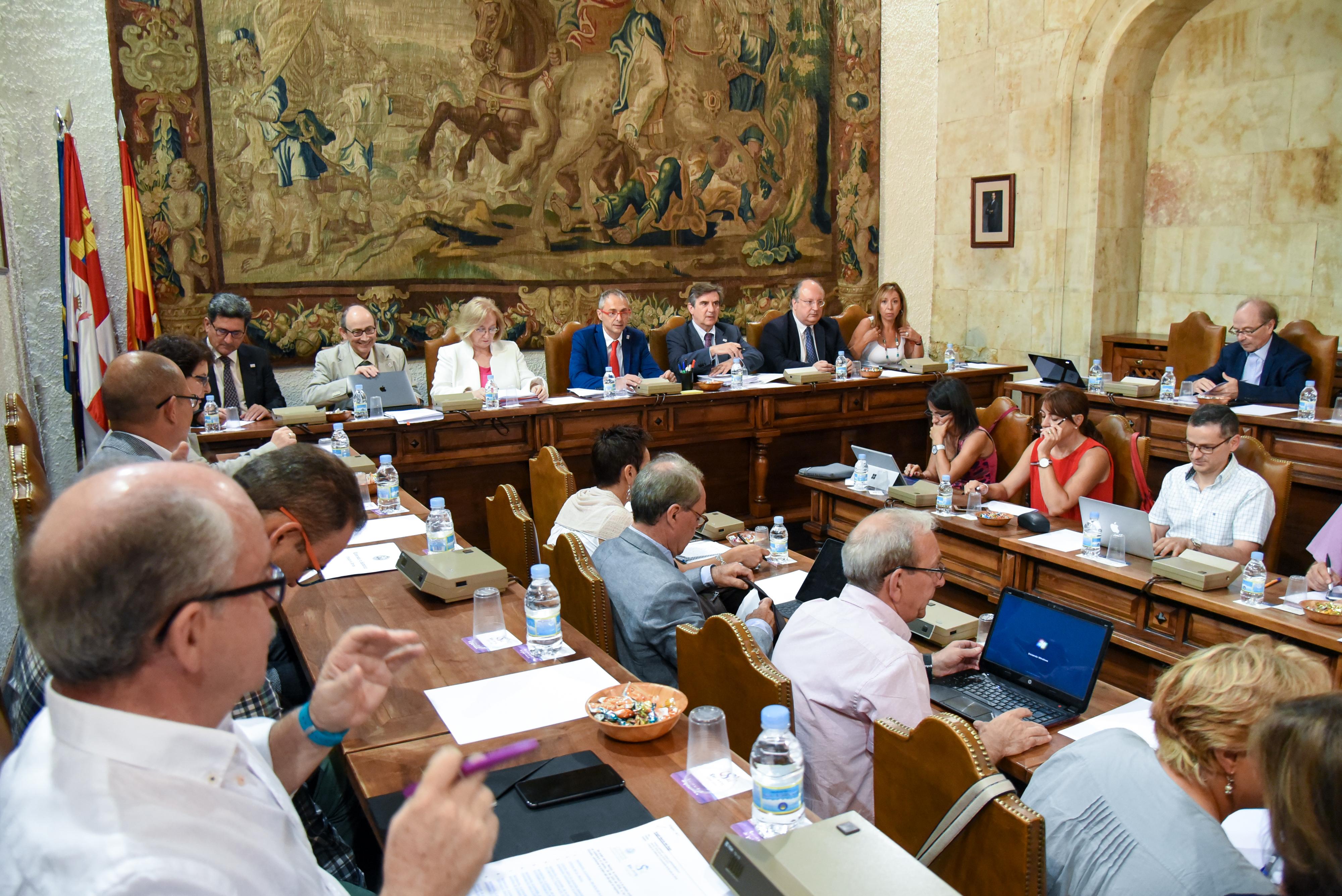 La Universidad de Salamanca aprueba por unanimidad el Plan Especial de Profesorado de Ciencias de la Salud