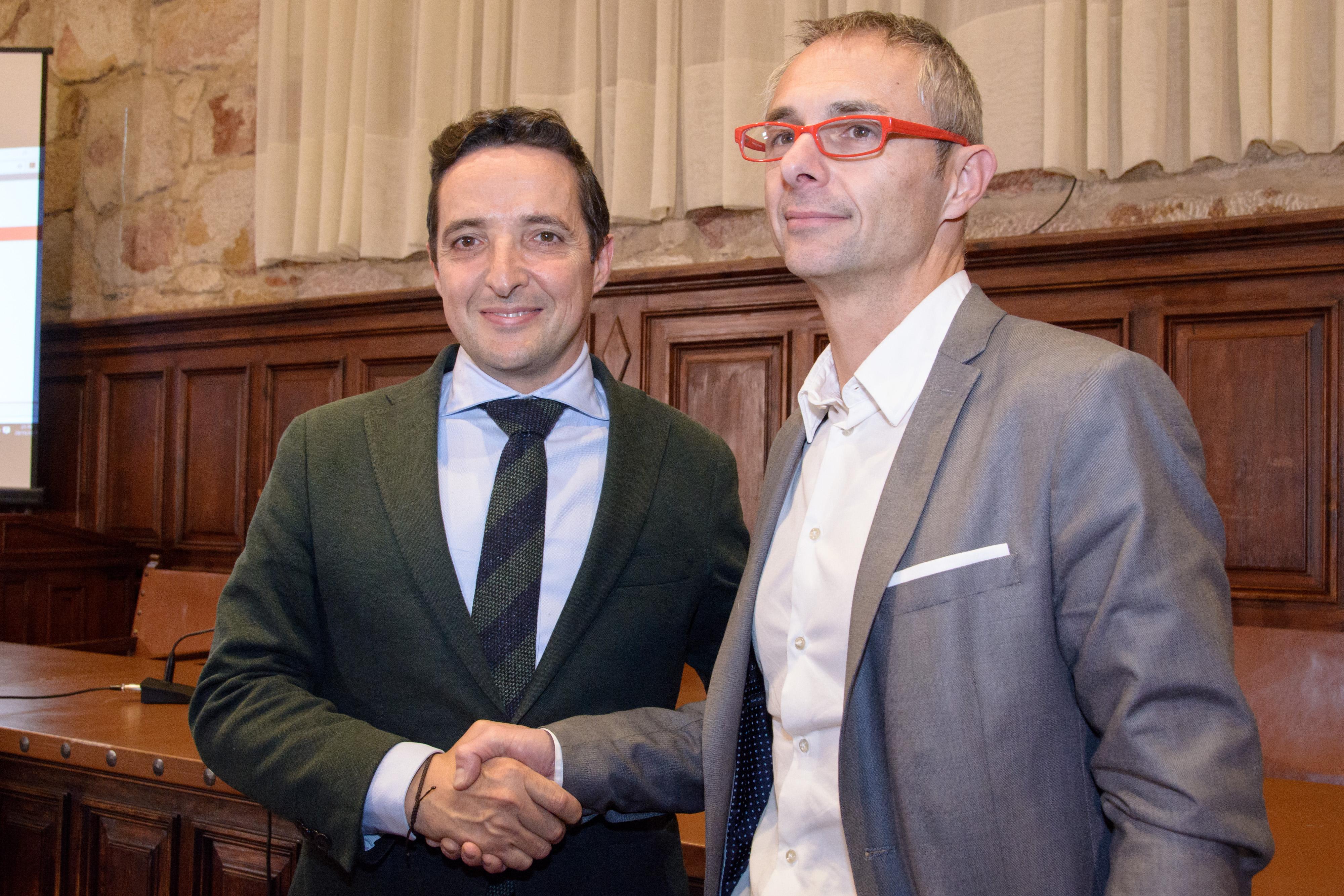 Ricardo Rivero y Juan Manuel Corchado se disputarán el Rectorado de la Universidad de Salamanca en segunda vuelta el 30 de noviembre