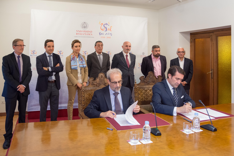 La Universidad de Salamanca y la Fundación Centro de Supercomputación de Castilla y León suscriben un convenio de colaboración
