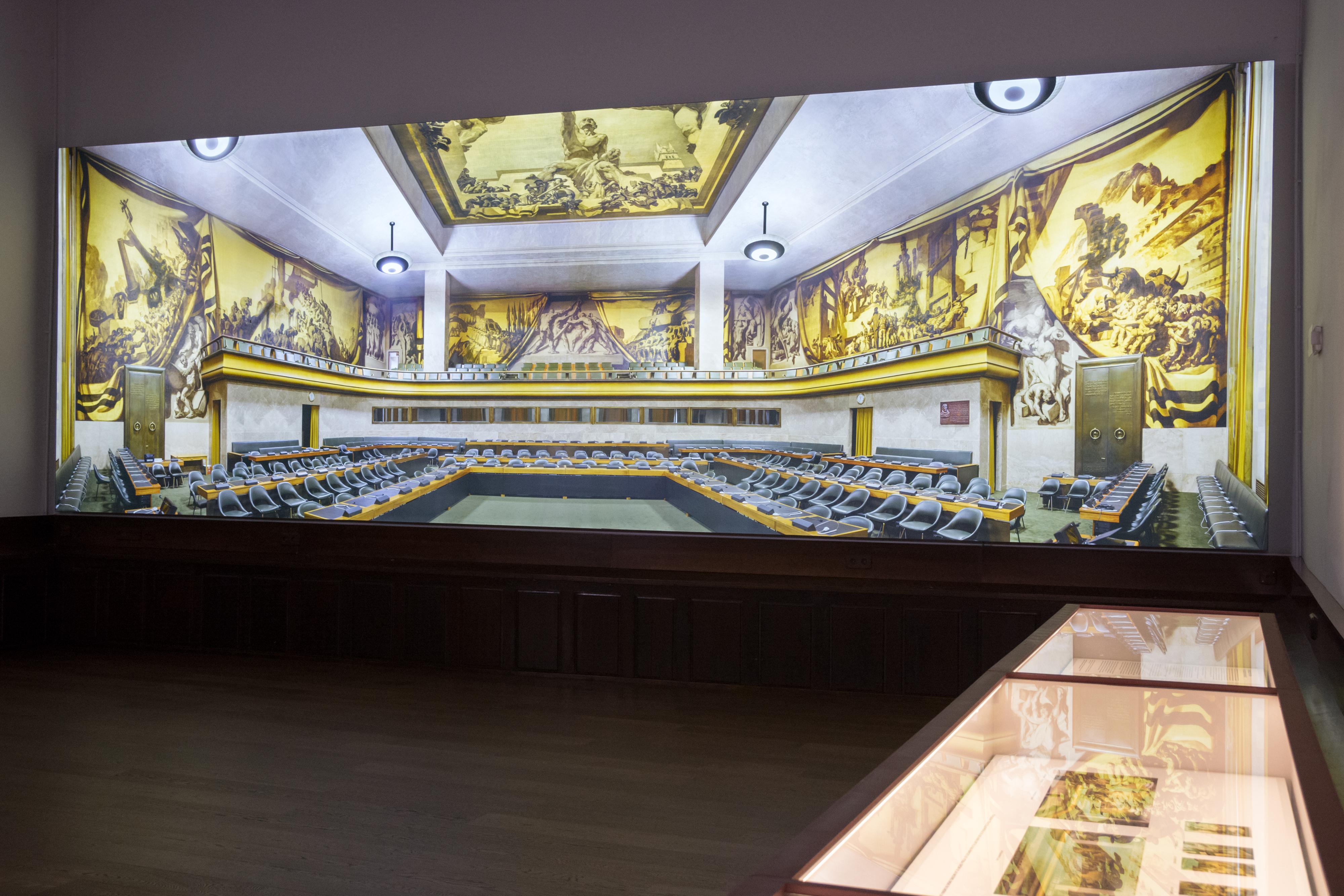 Presentación musealización del aula Francisco de Vitoria